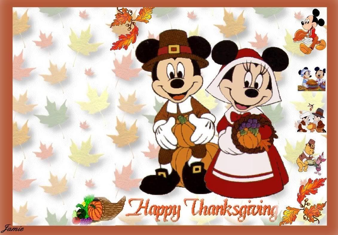 Disney Thanksgiving Wallpapers - 126.3KB