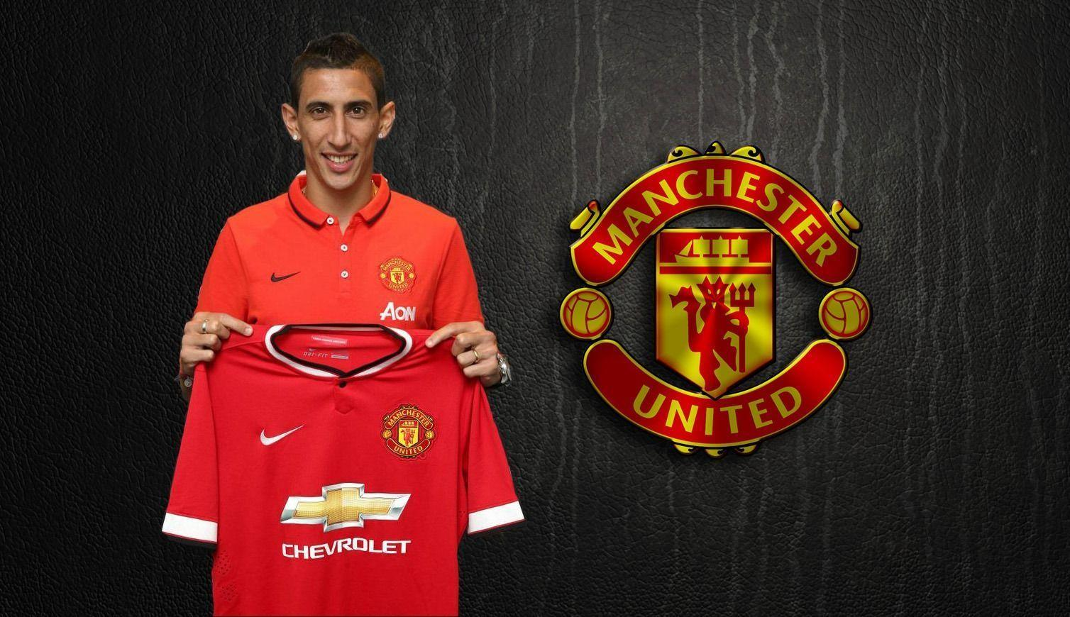 Angel Di Maria MUFC computer backgrounds wallpapers
