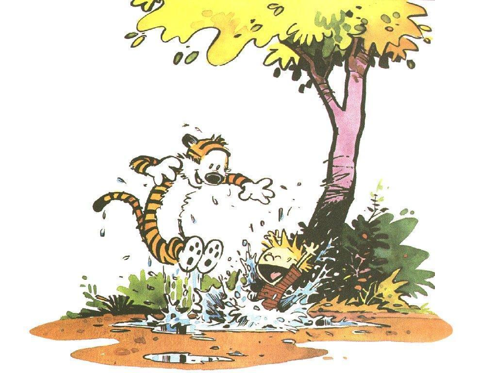 Wallpapers For > Calvin And Hobbes Wallpapers Summer
