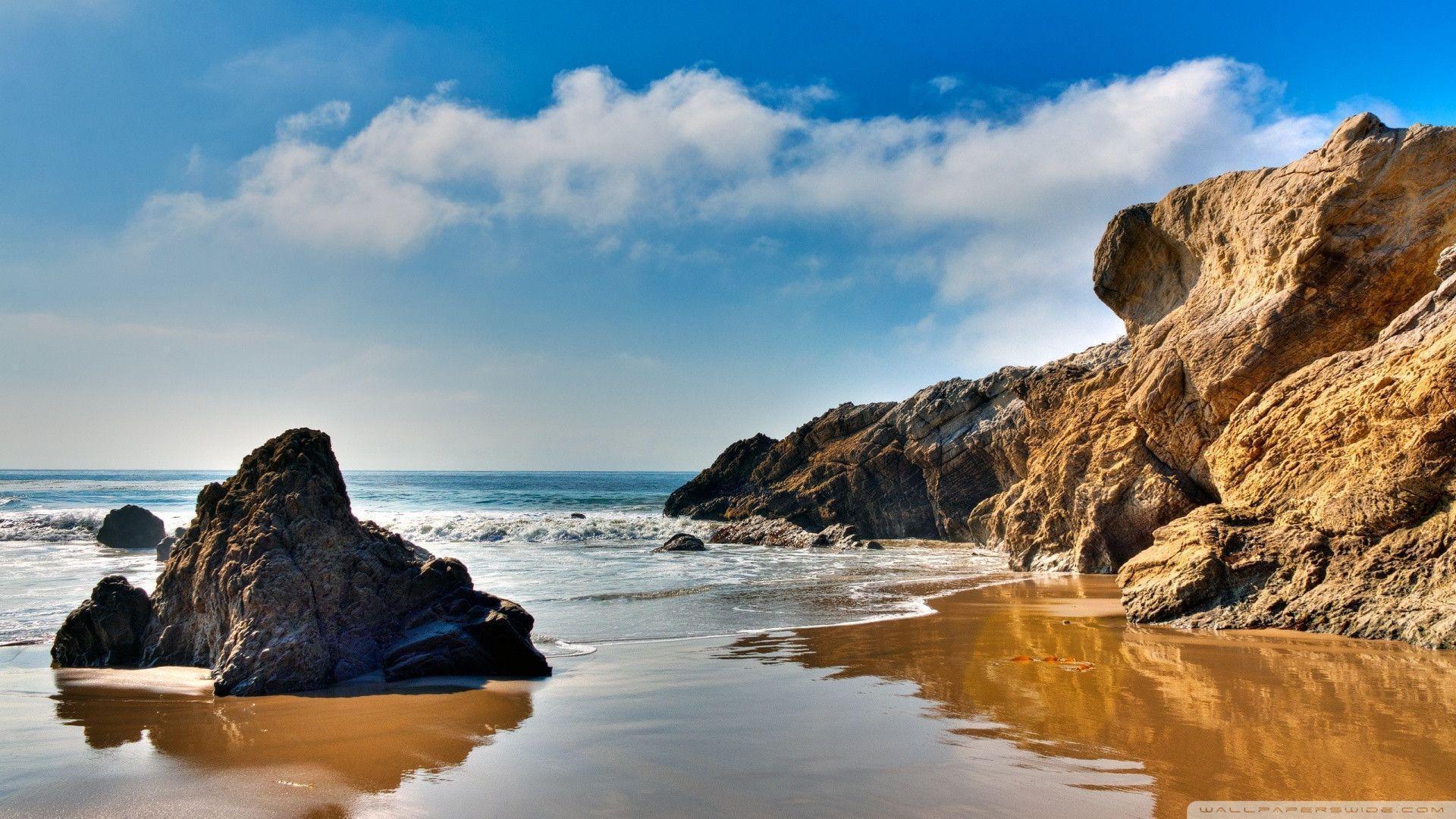 Retina Wallpaper Beach Sea Hd Desktop Wallpapers: California Beach Wallpapers