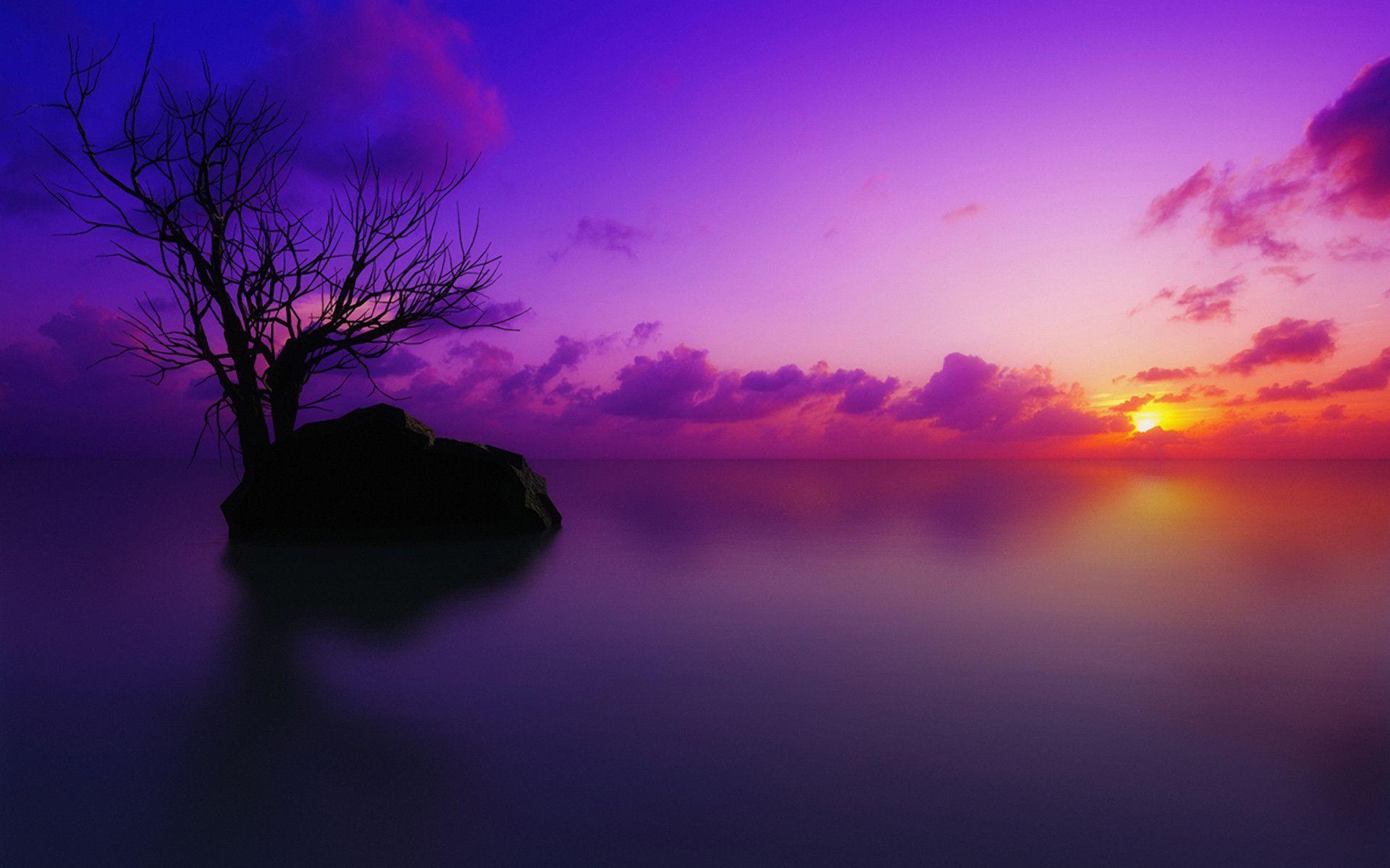 blue purple sky desktop wallpaper - photo #20