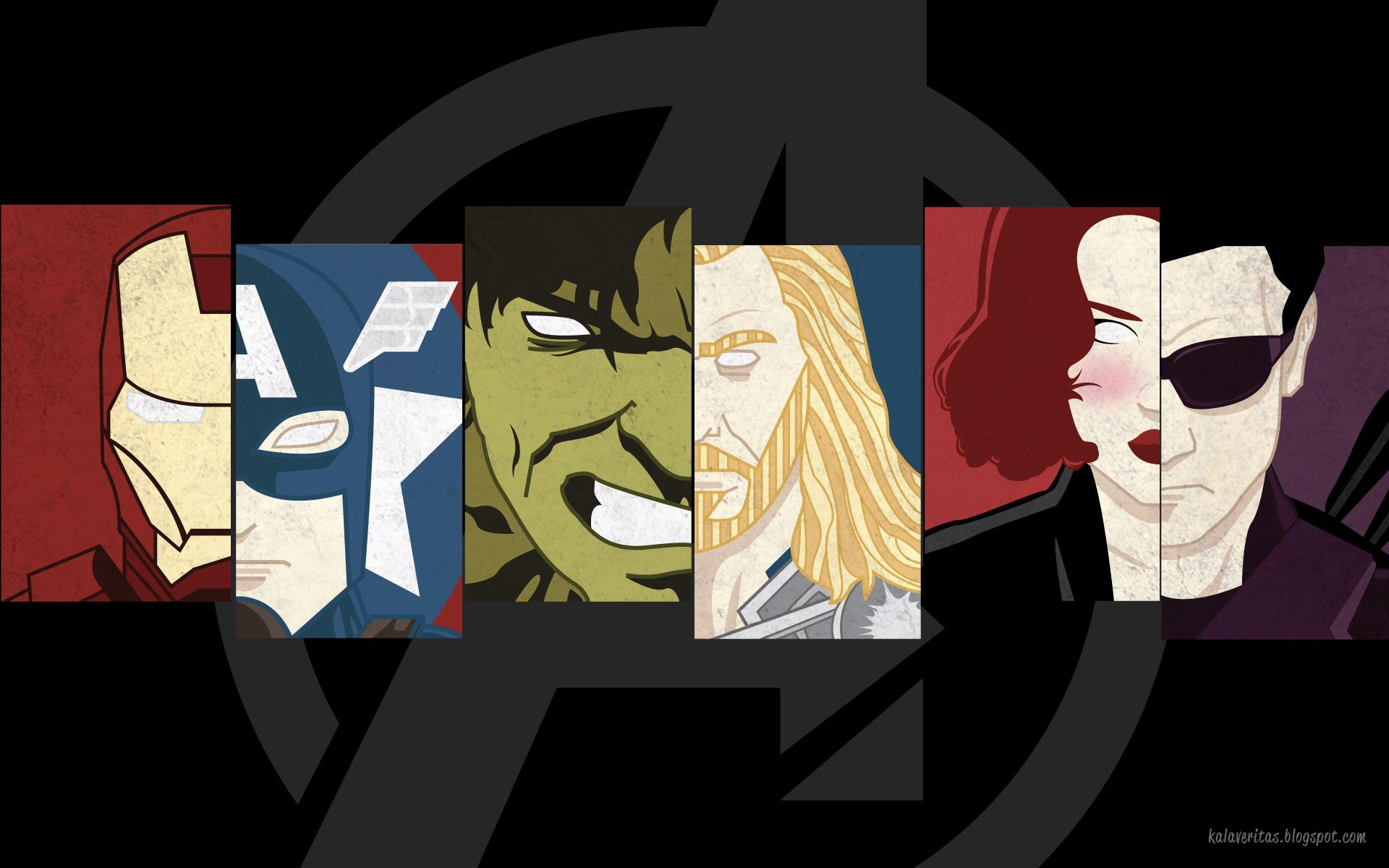 avengers comic logo wallpaper - photo #14