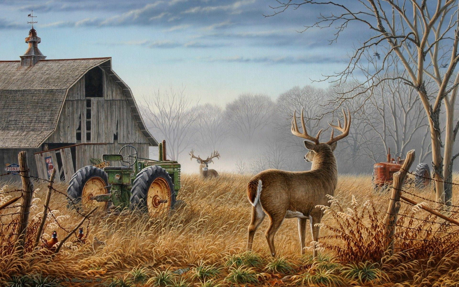 Image For > Monster Whitetail Deer Buck Wallpapers