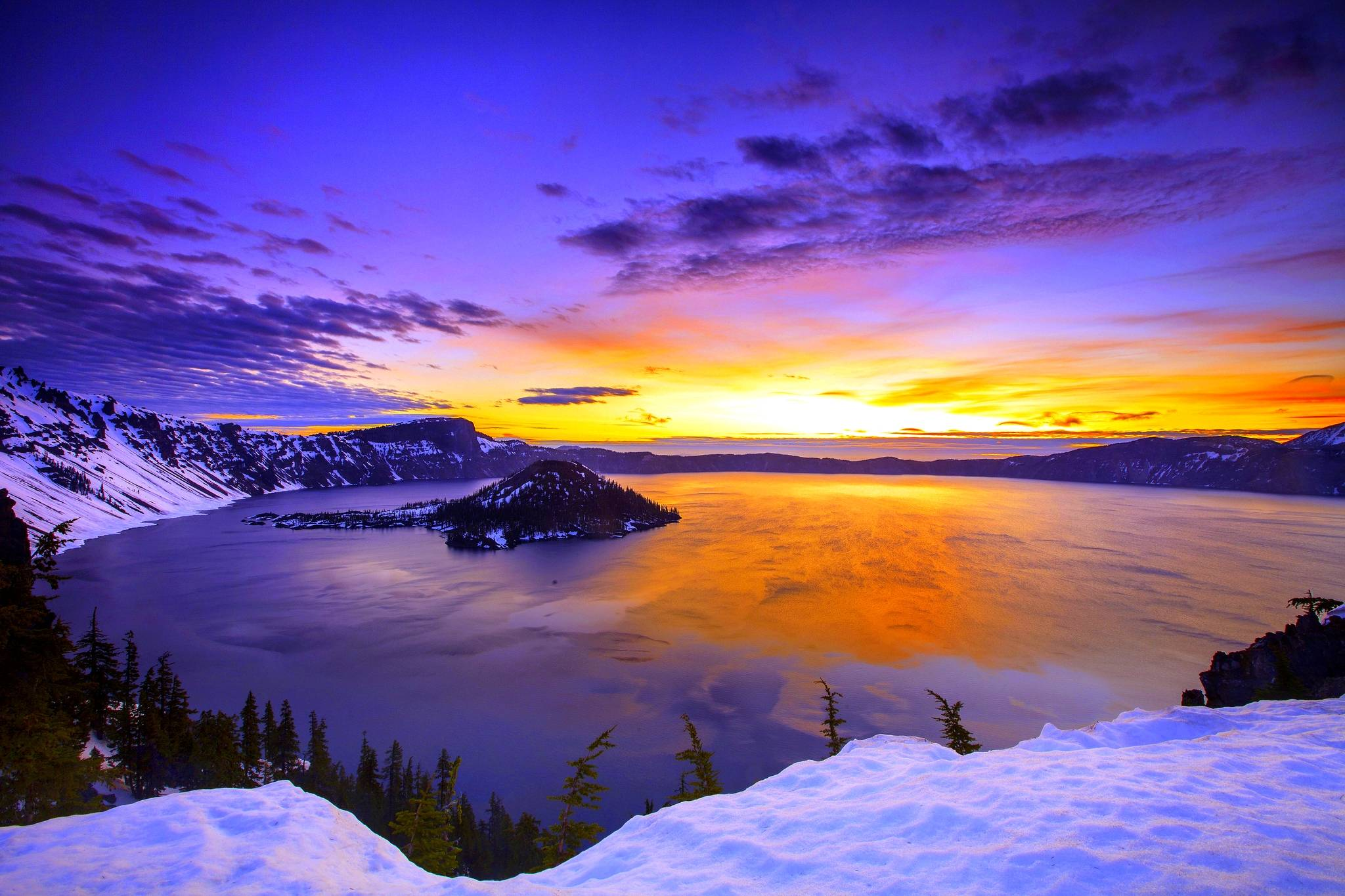 winter sunset wallpapers wallpaper cave