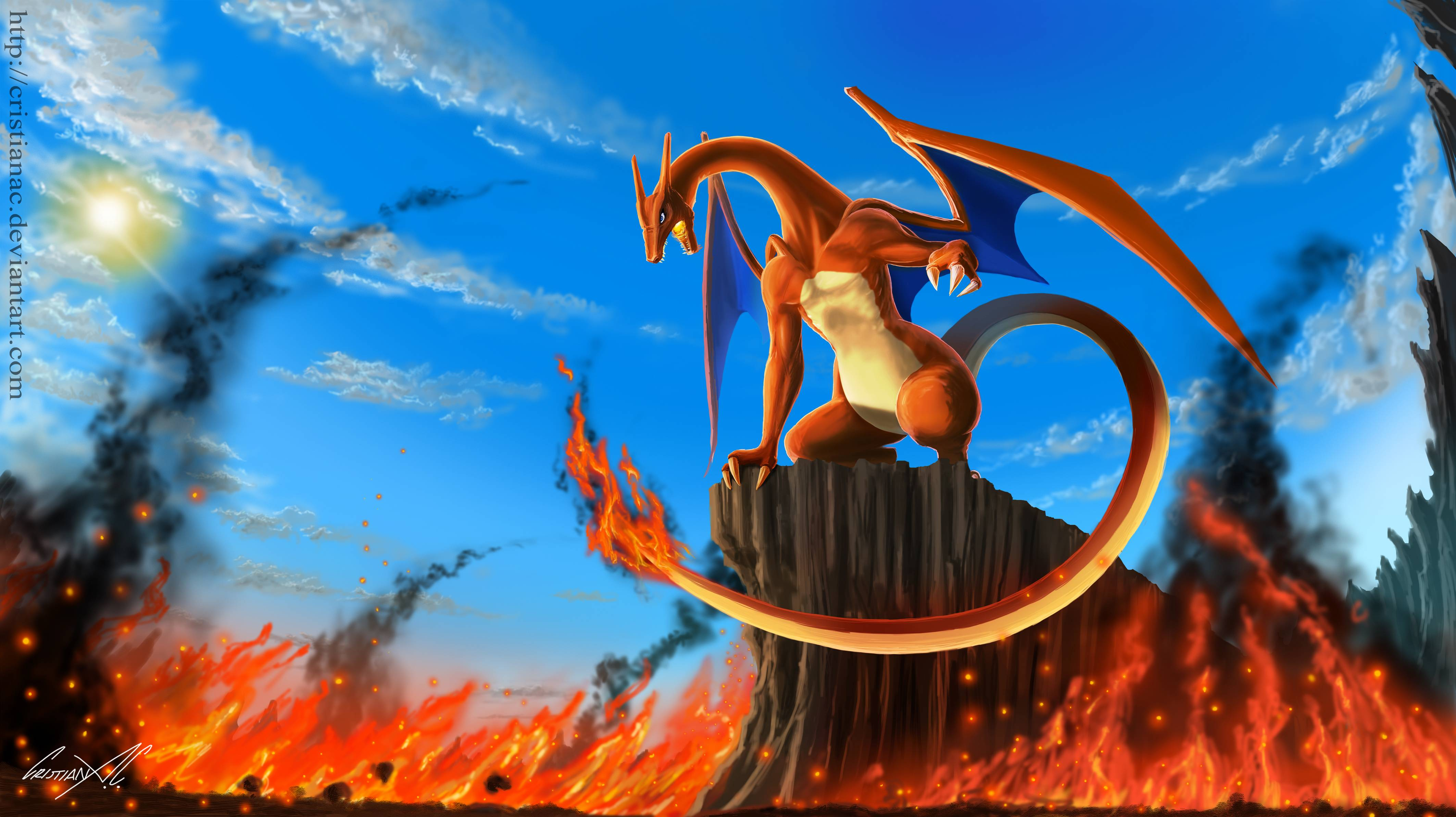 pokemon charizard wallpapers wallpaper cave
