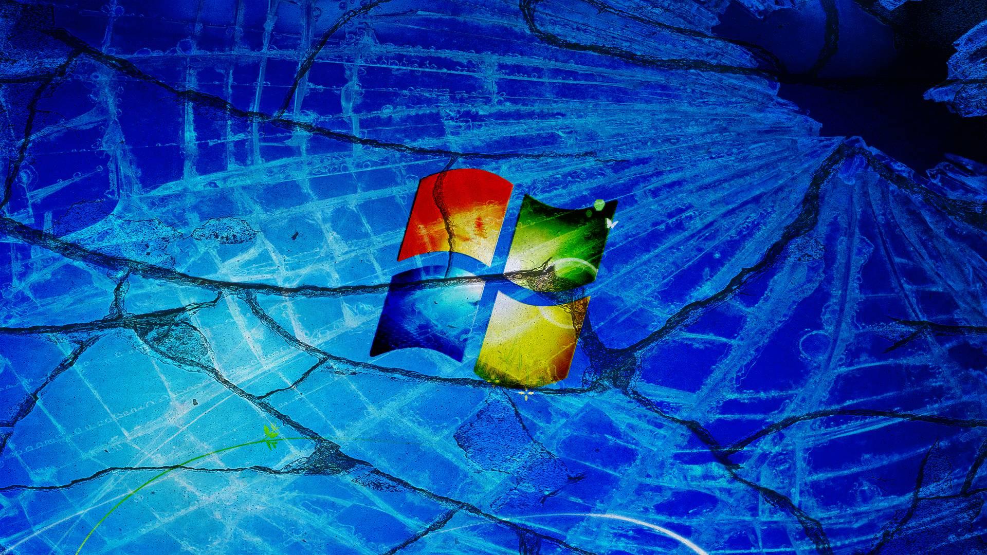 cracked computer screen wallpaper windows - photo #14