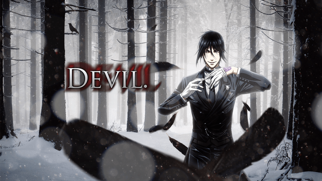 Black Butler: Sebastian Wallpaper 2.0 by DieVentusLady on DeviantArt