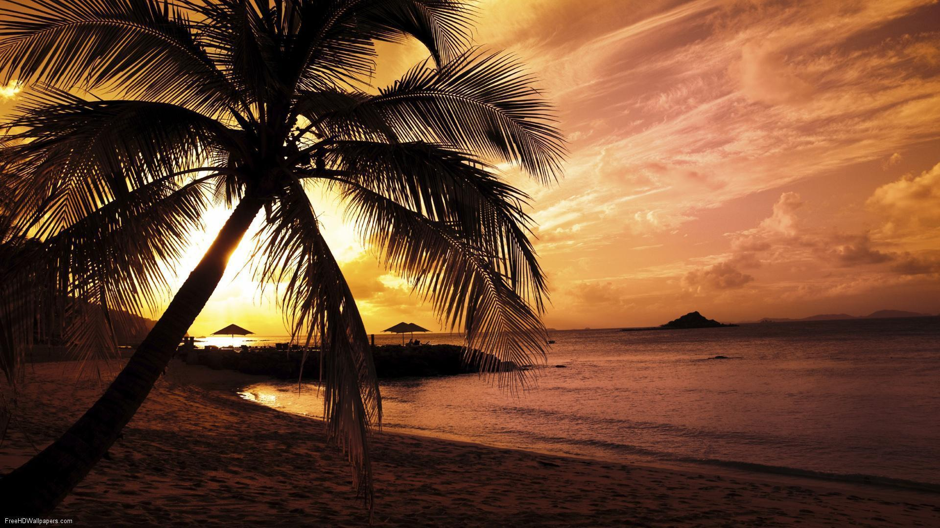 Hd Tropical Island Beach Paradise Wallpapers And Backgrounds: Beach Paradise Wallpapers