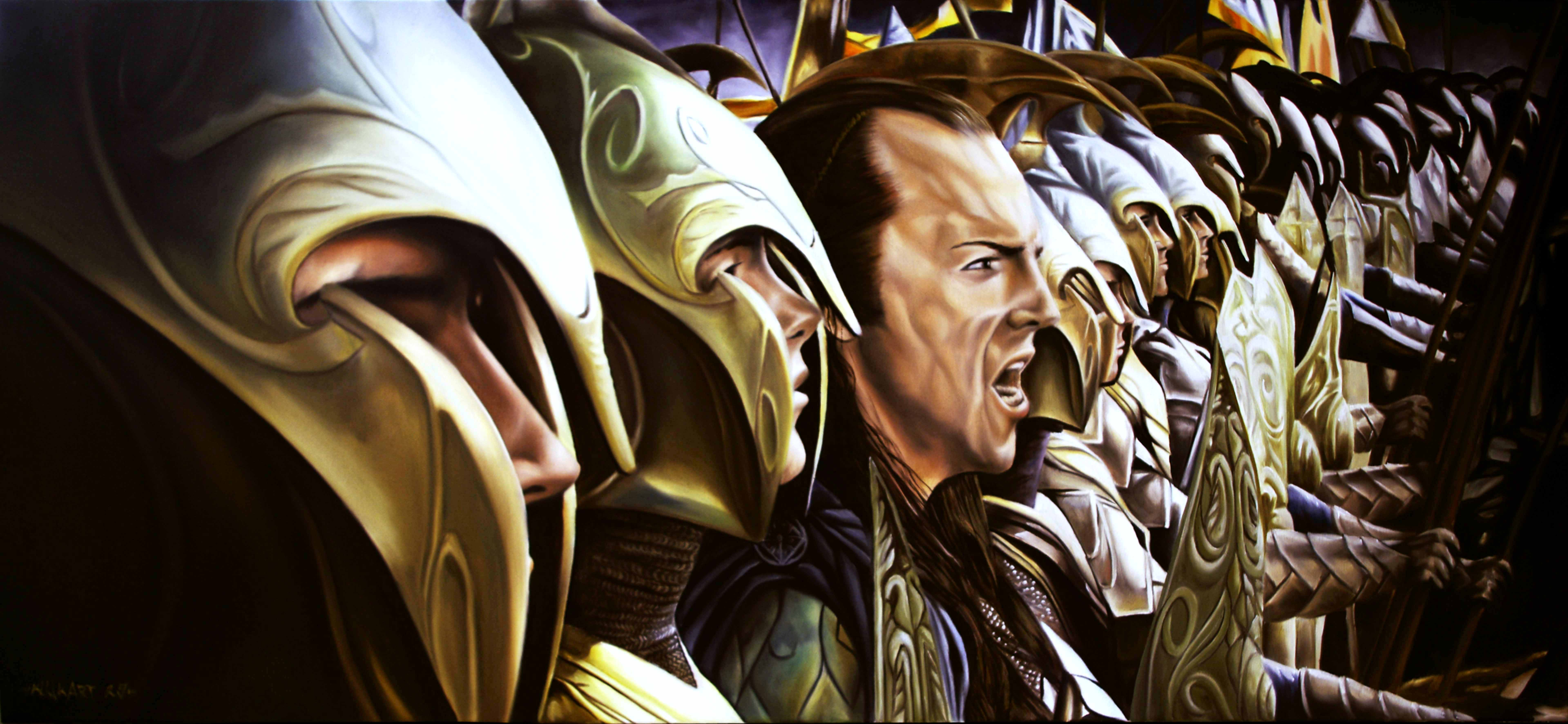 Lord Of The Rings Total War High Elves