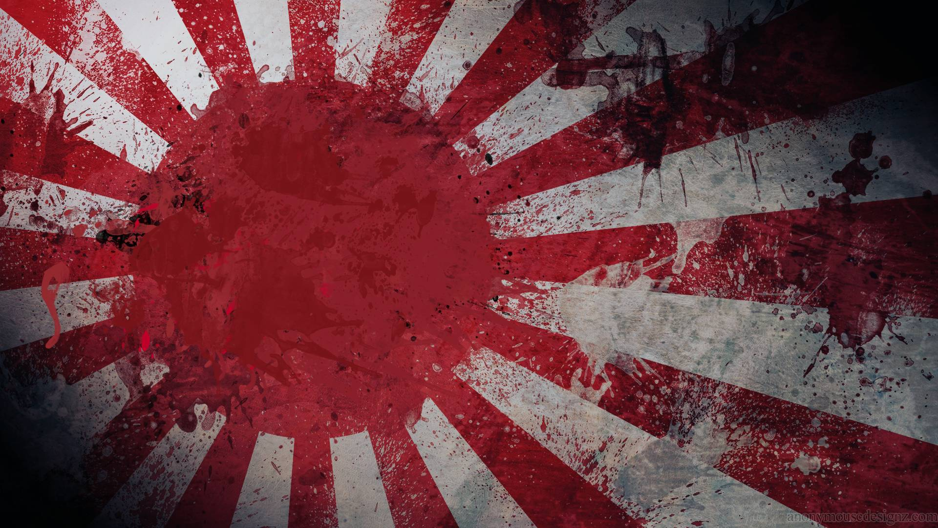 Japanese Art Flag Free HD Wallpapers