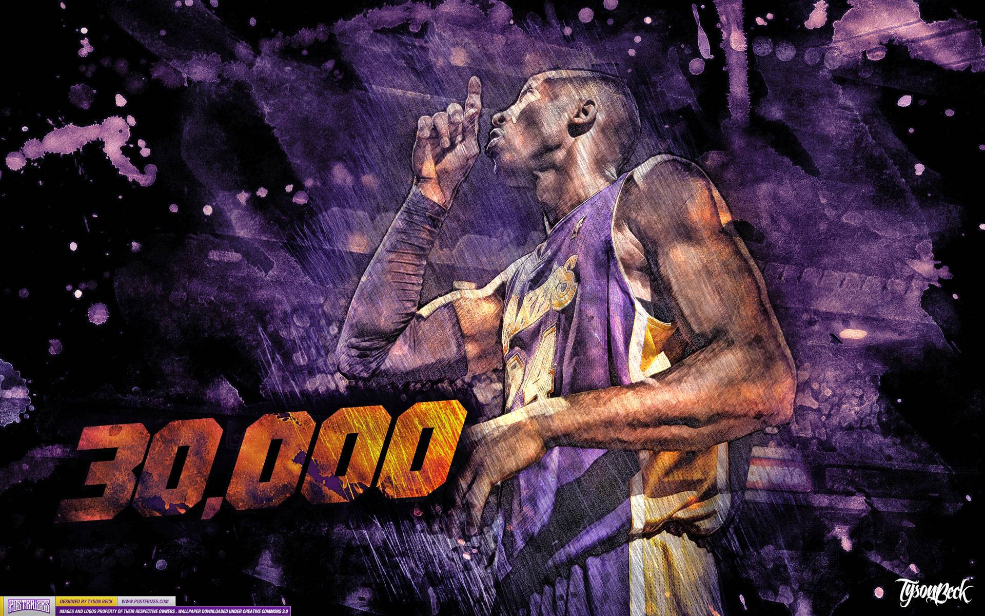 Kobe Bryant 30,000 Points Wallpapers