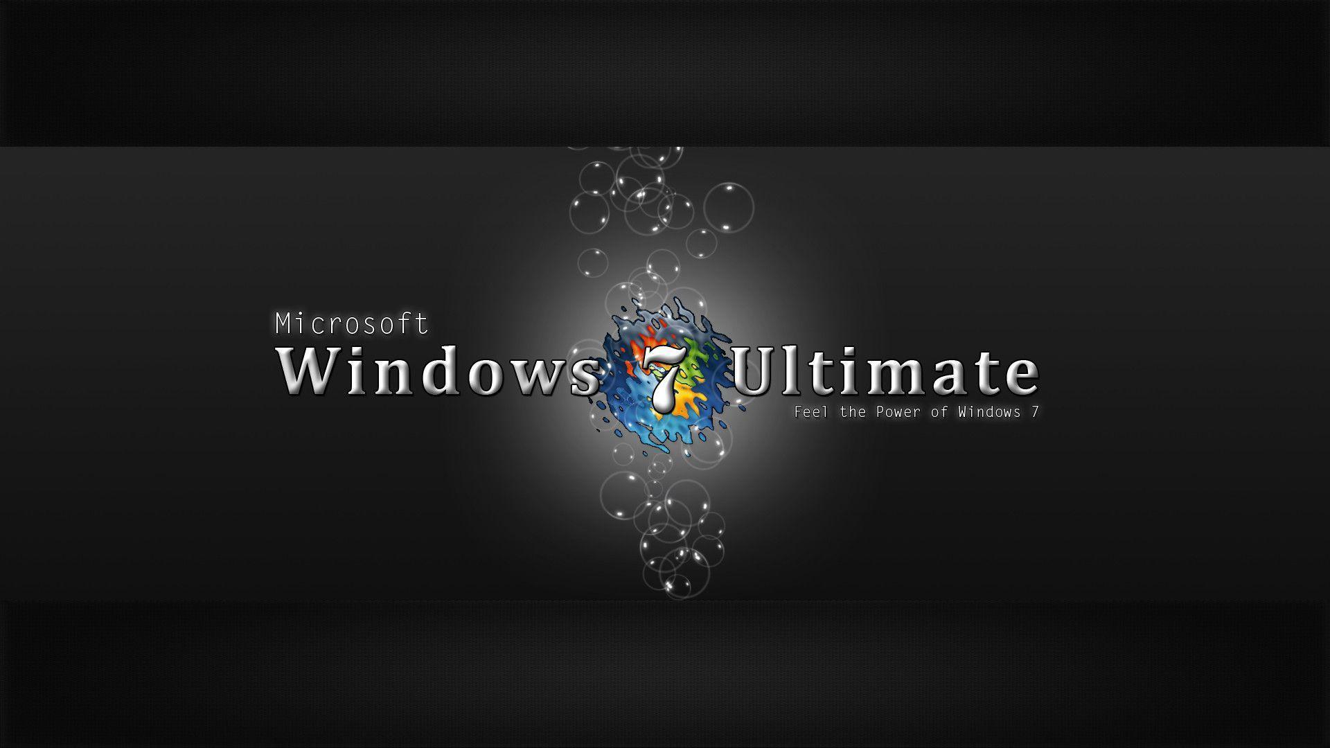 windows 7 ultimate duvar kağıtları windows 7 ultimate