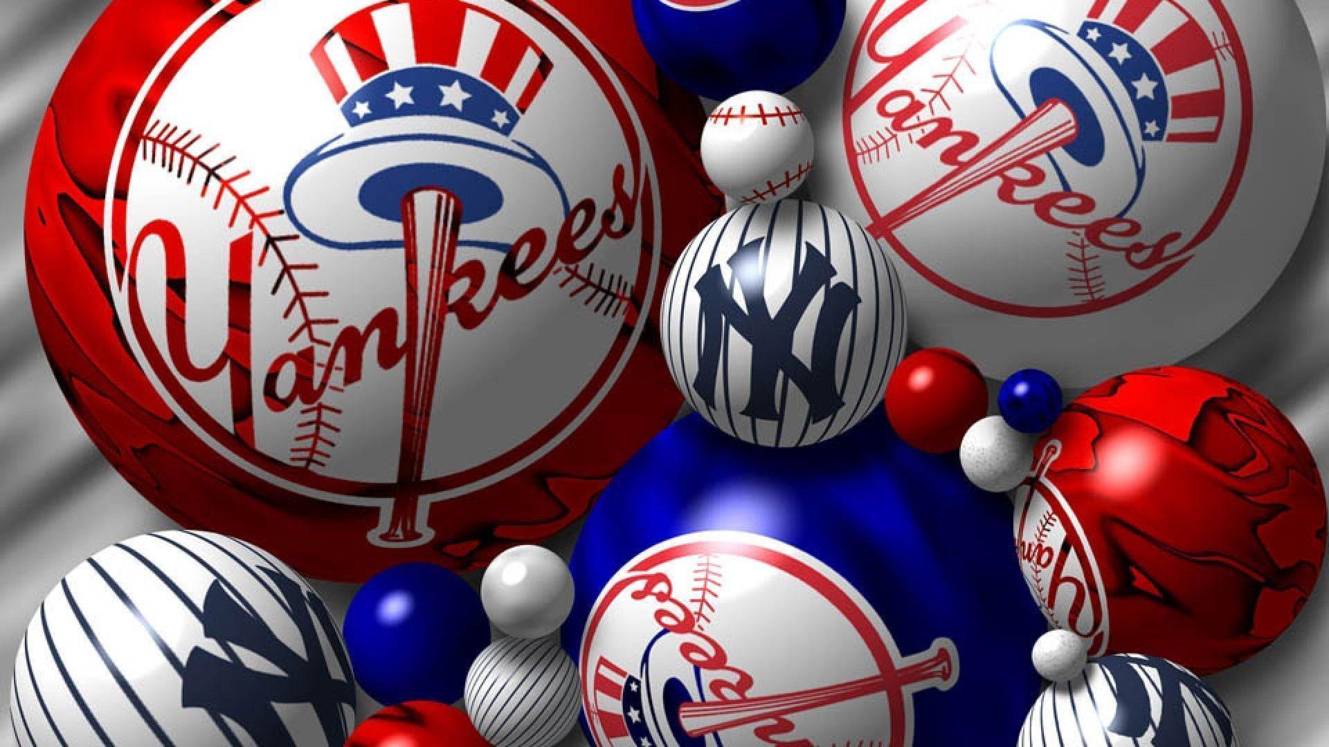 New York Yankees Logo Wallpapers - Wallpaper CaveYankees
