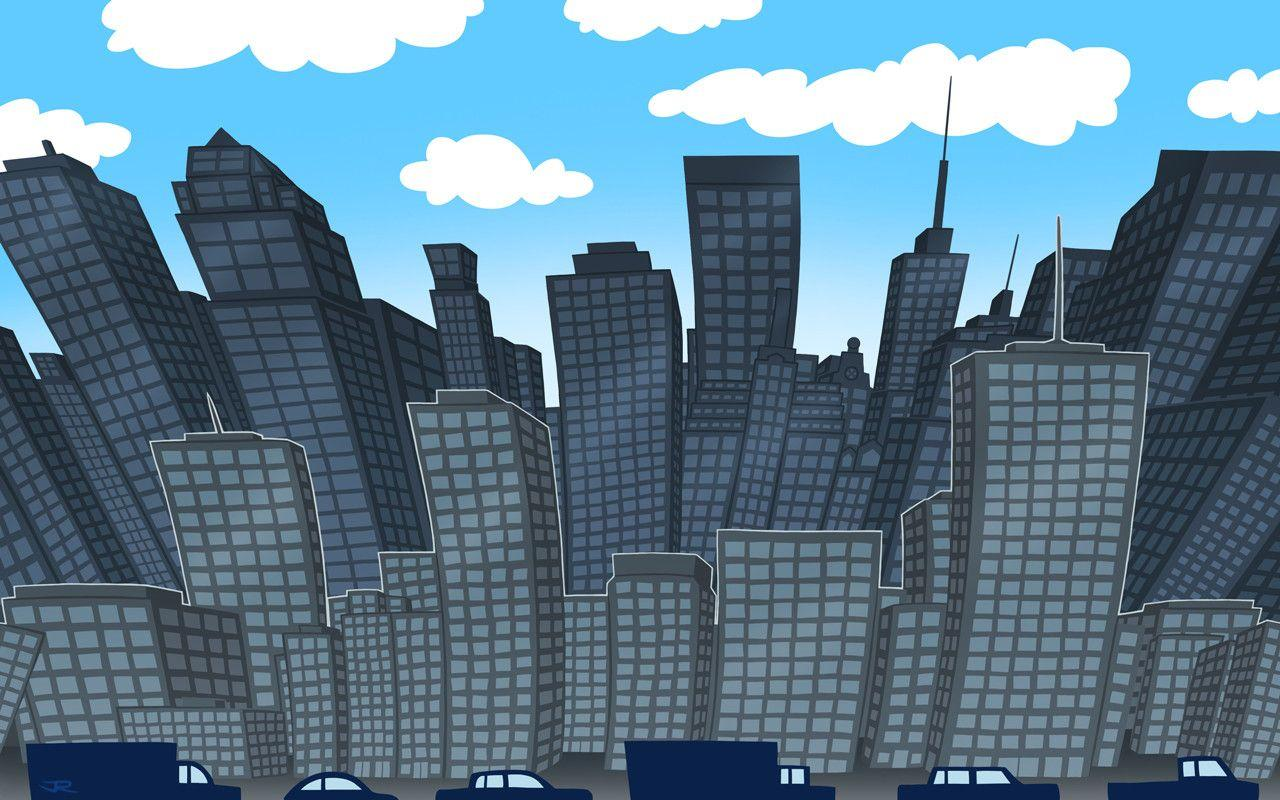 City Backgrounds by jRace
