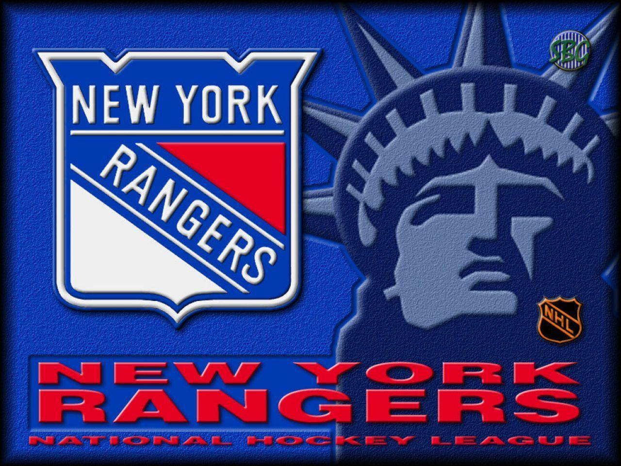 Free NHL and hockey wallpaper - New York Rangers