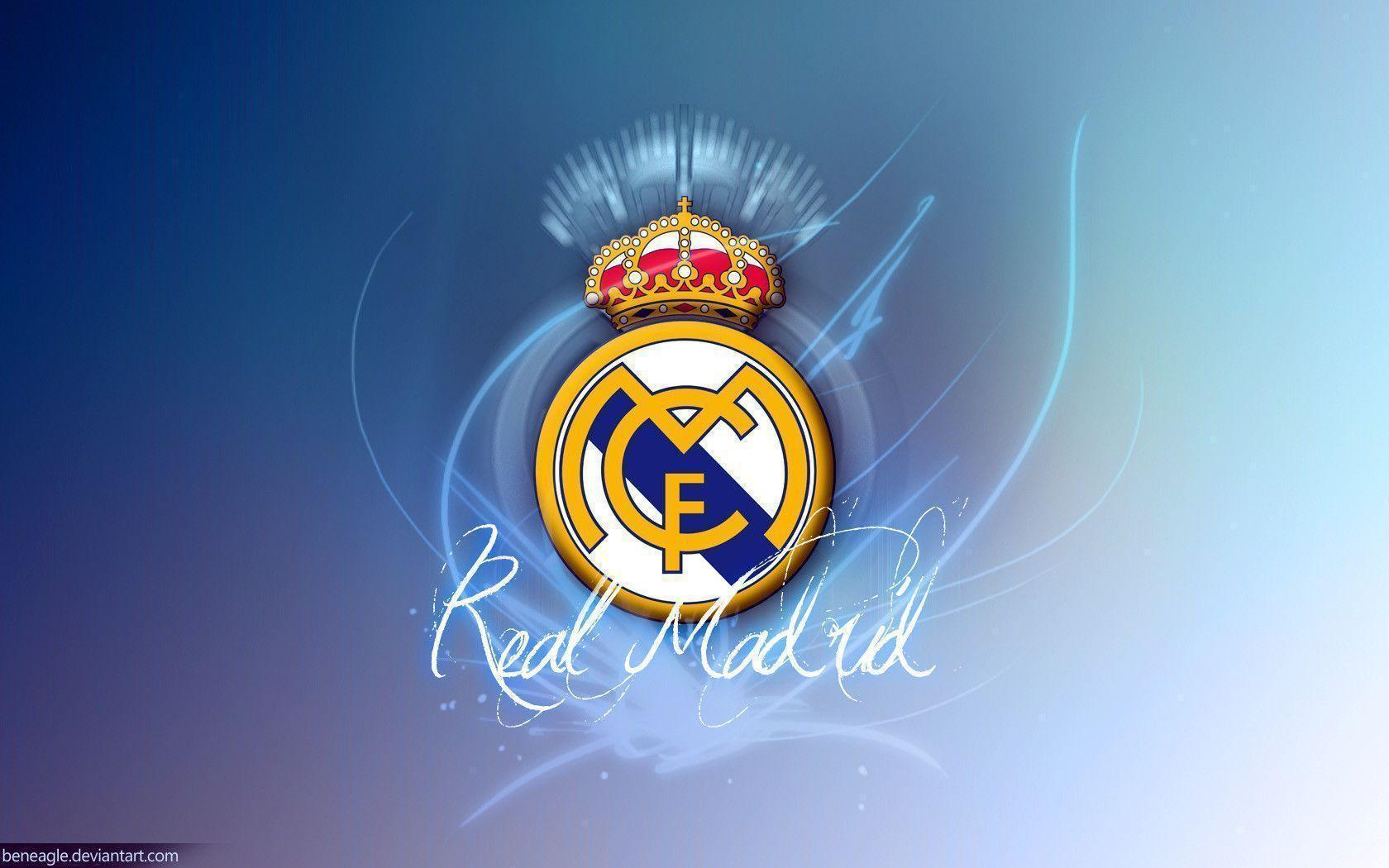 Real Madrid Logo Wallpapers 1680x1050 Wallpapers computer