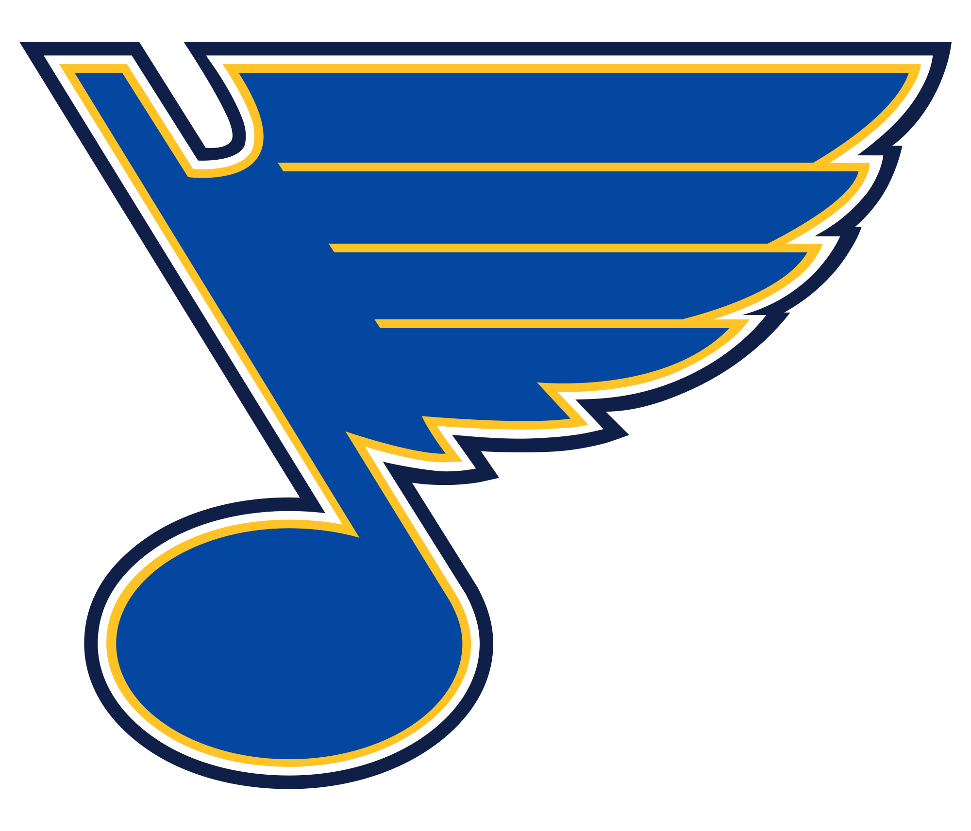 St Louis Blues Logo Wallpapers Wallpaper Cave