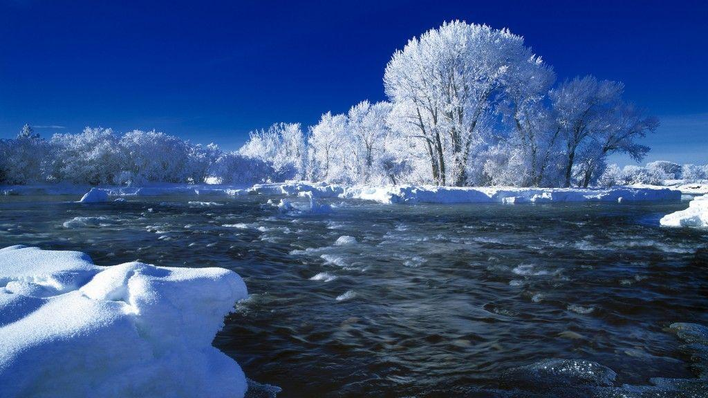New Winter Snow Nature Hd Wallpapers Desktop 1024x576PX ~ Wallpapers