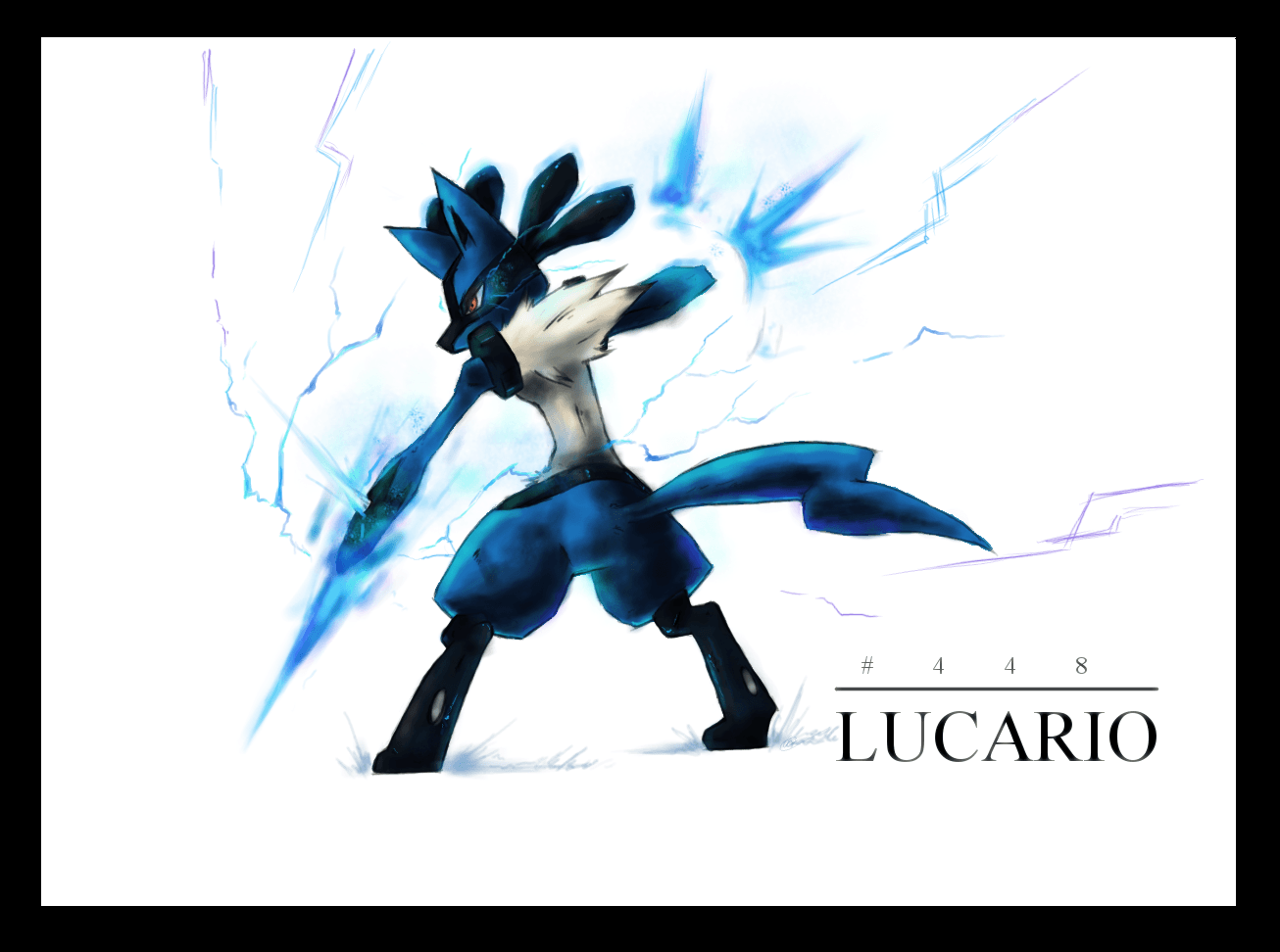Wallpapers For Lucario Aura Sphere Wallpaper