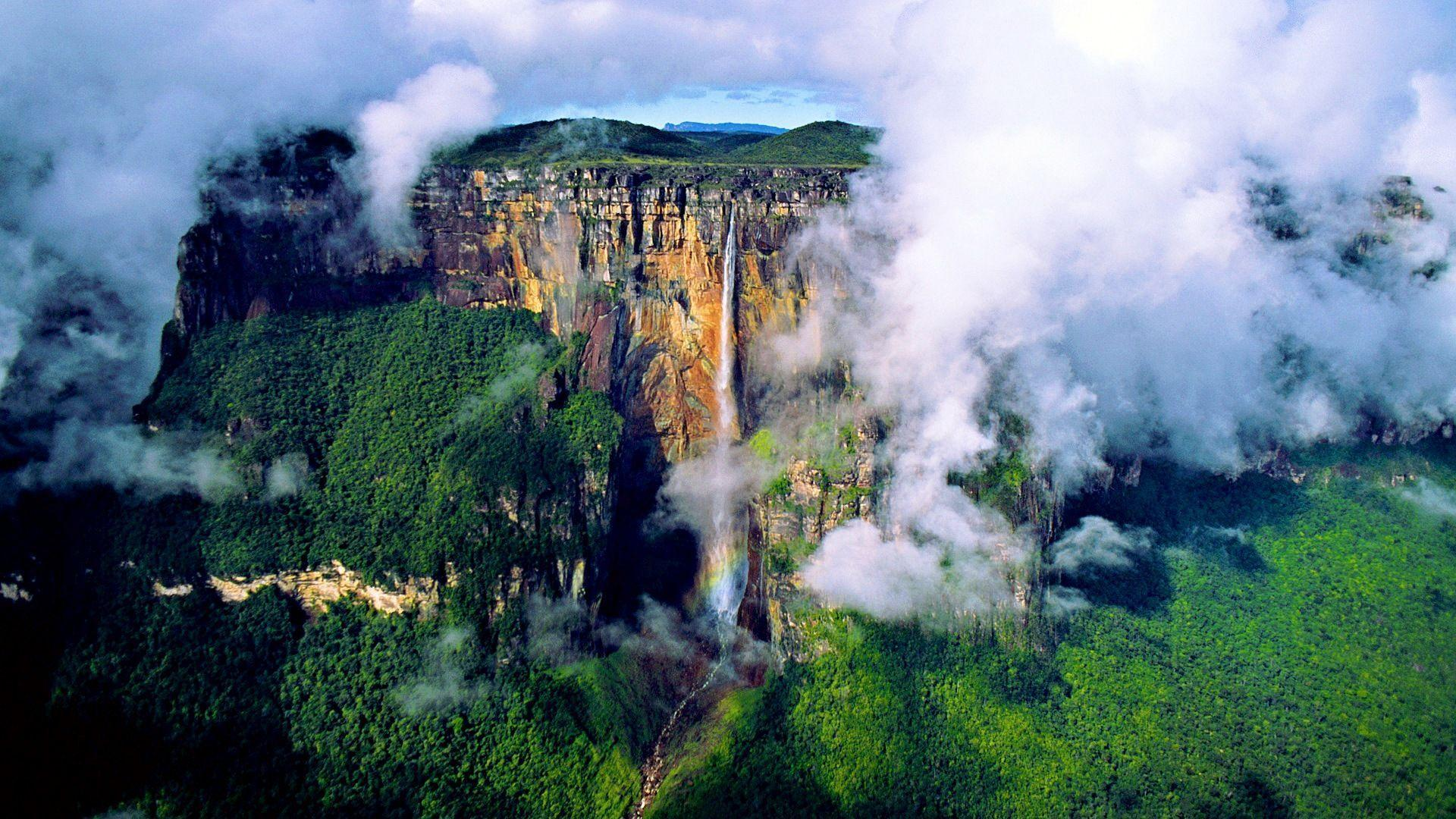 angel falls wallpaper - photo #14