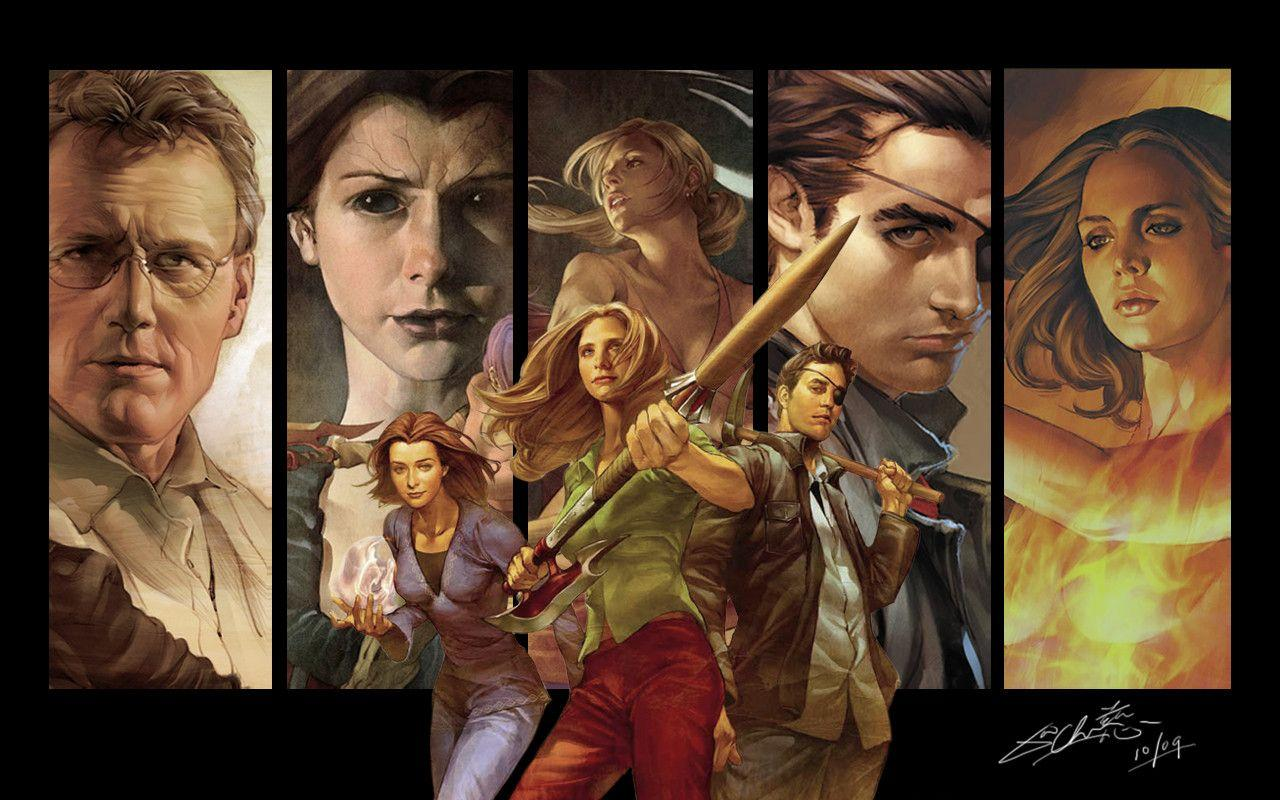Buffy wallpaper