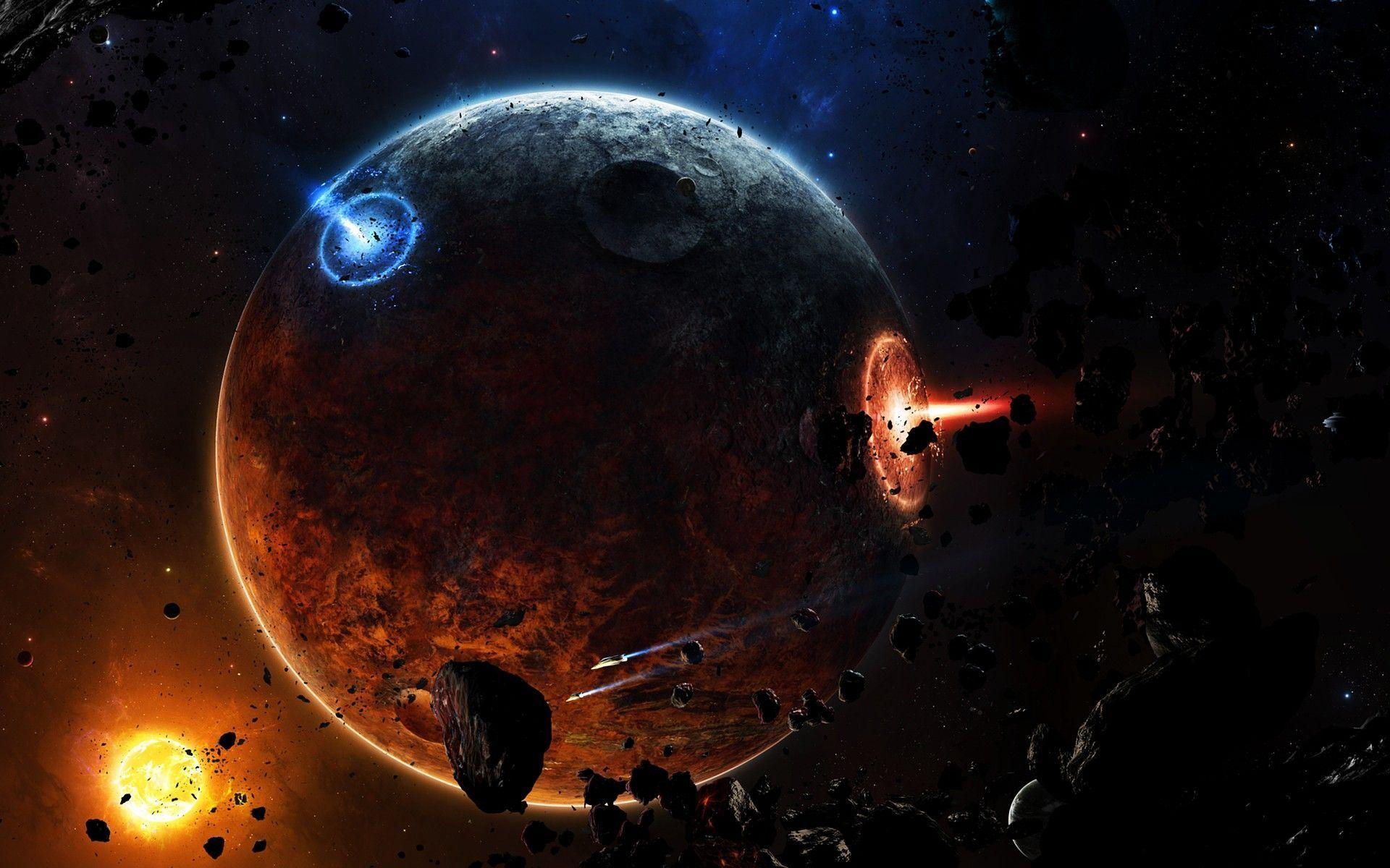 Image - Outer Space Planets Hd Background Wallpaper 29 HD ...