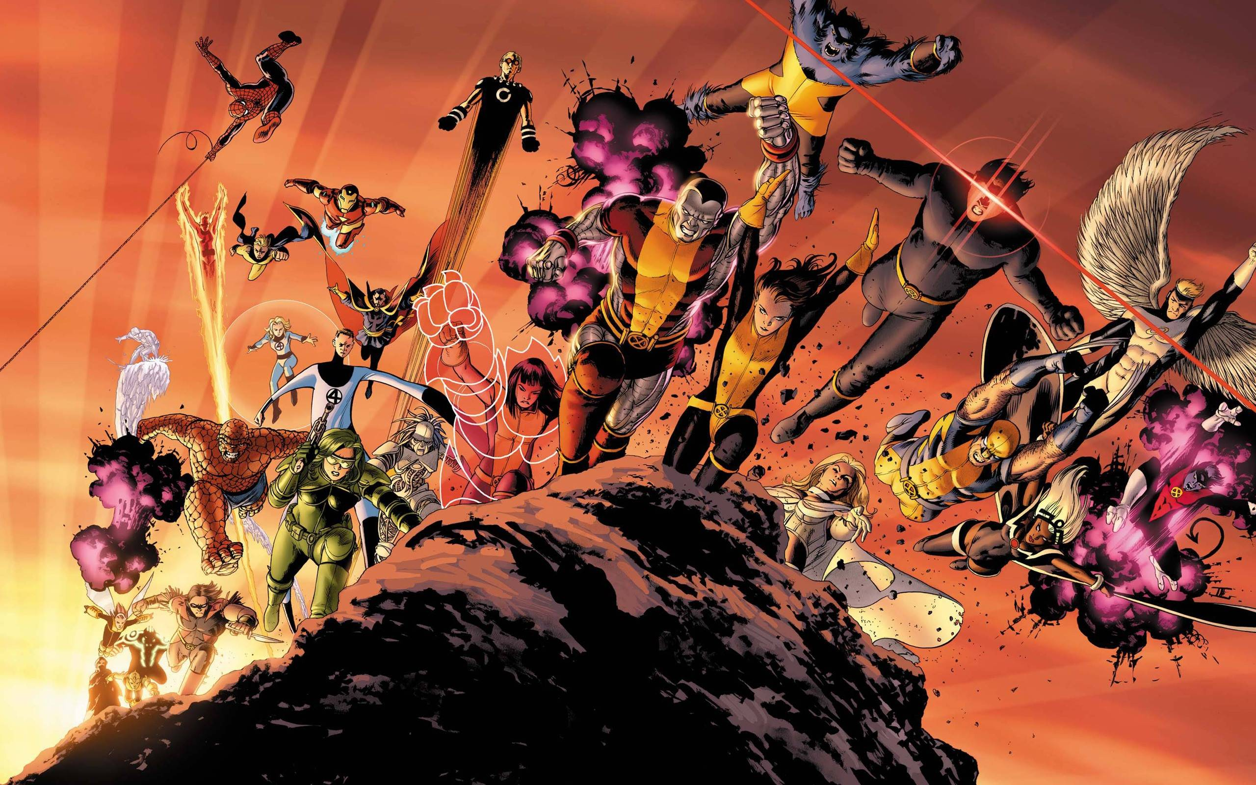 contrast marvel vs frost essay What are some common lines drawn separating marvel and dc stories  the  reason why the avengers or the justice league or anyone else keep fighting  in  contrast, marvel characters easily lend themselves to humor.