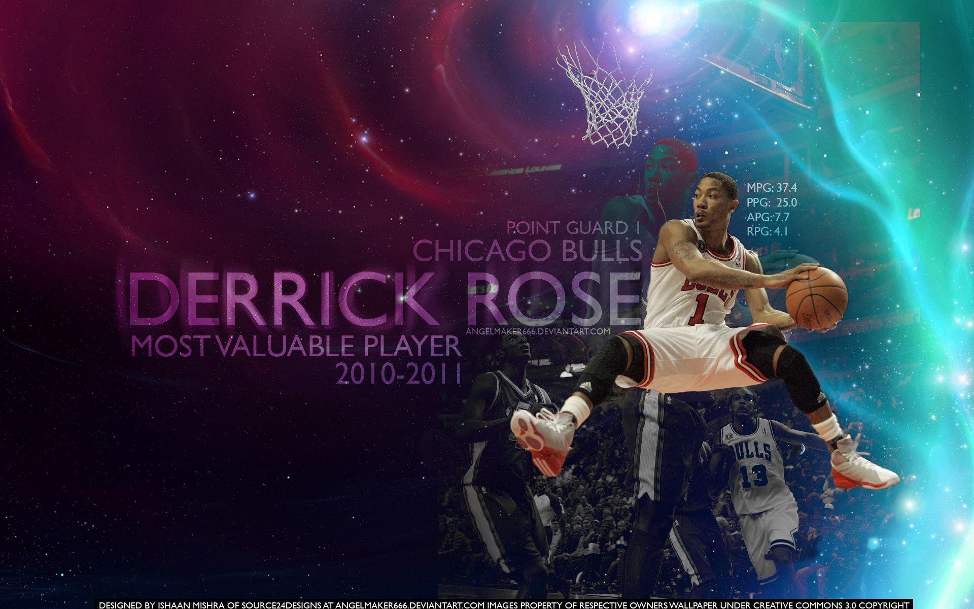 Derrick Rose Wallpaper Mvp Derrick Rose MV...