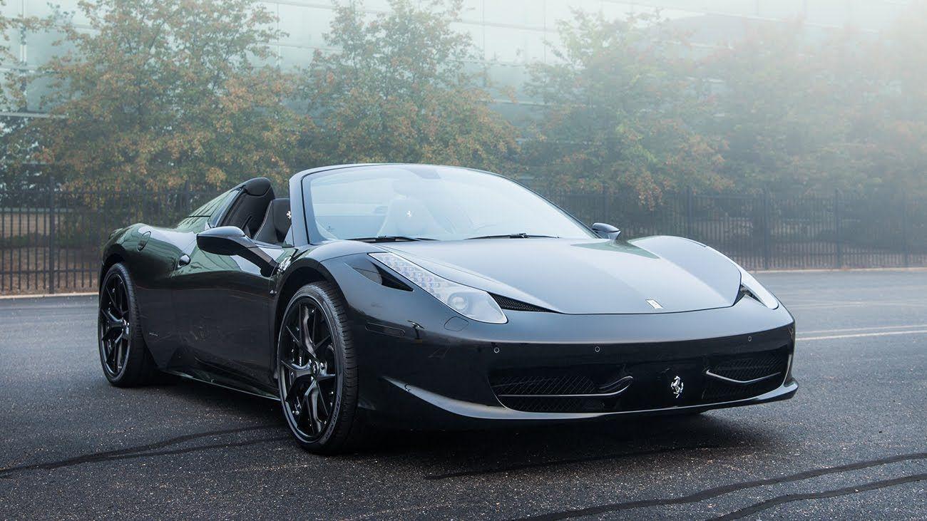 2015 ferrari 458 black cool wallpaper 2334 cool car wallpapers - Ferrari 458 Blue Wallpaper