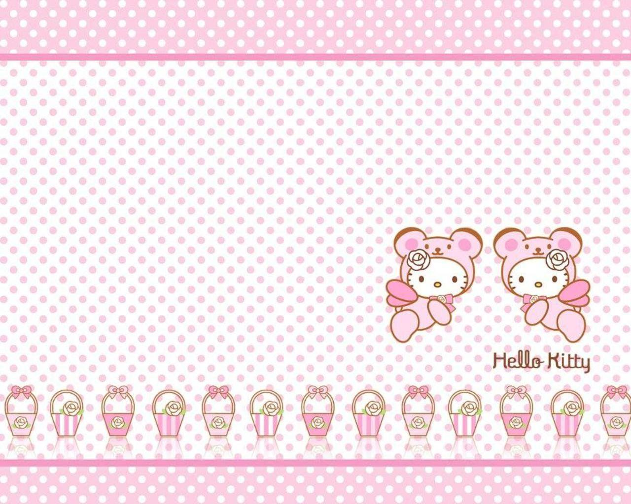 Hello Kitty Spring Wallpapers Wallpaper Cave