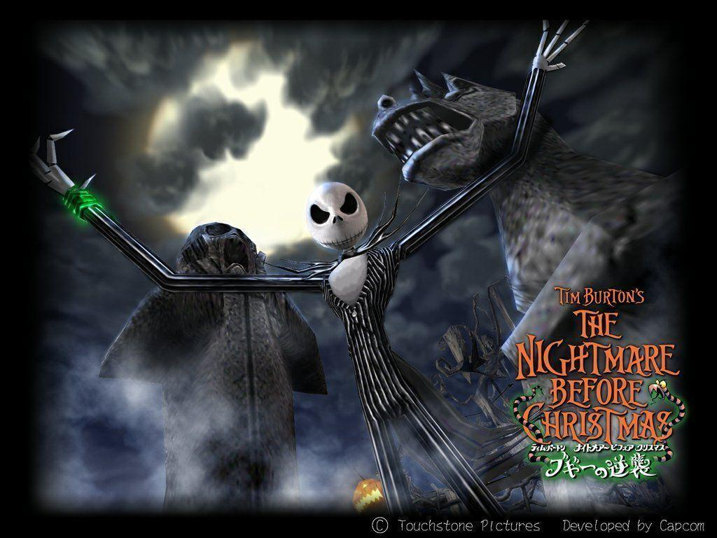 Nightmare Before Christmas Wallpapers Hd Wallpaper Cave