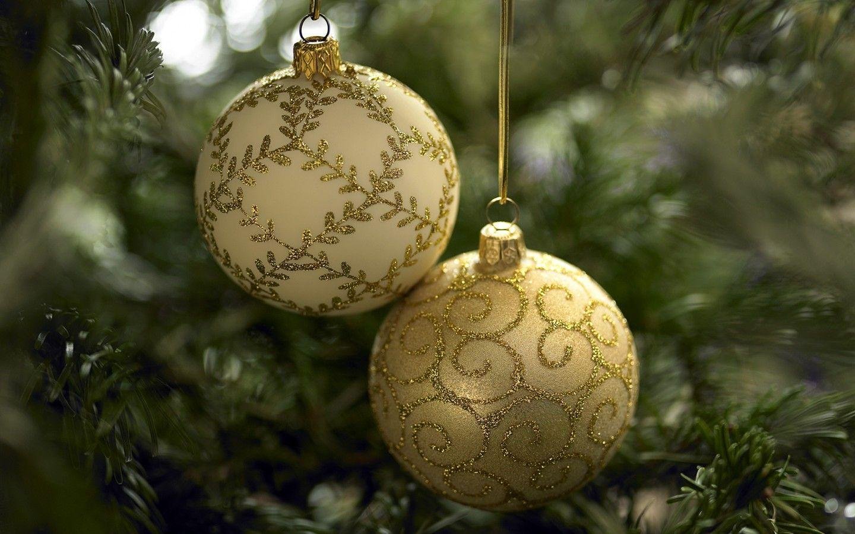 christmas ornaments wallpaper 8026 - photo #2