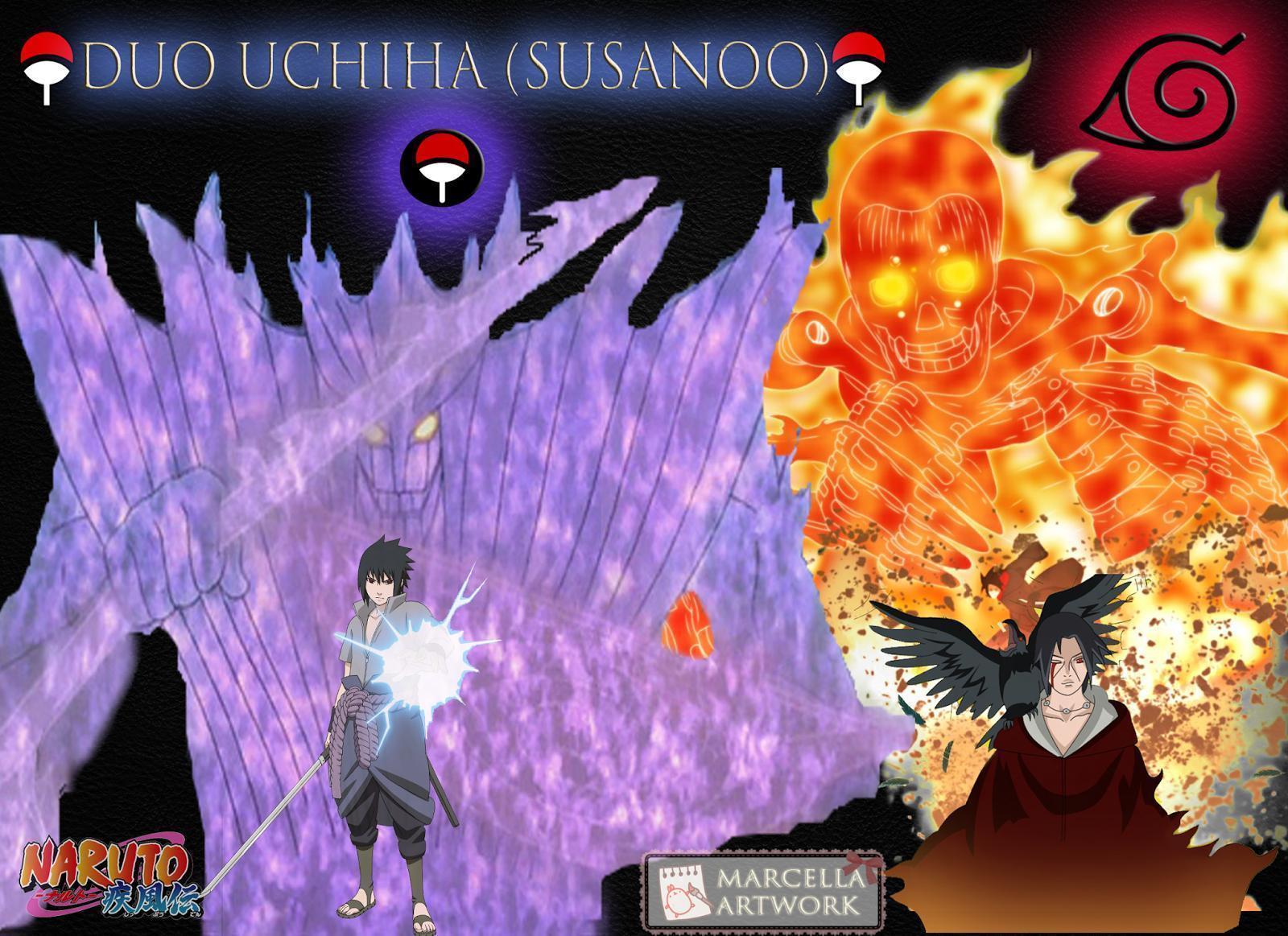 Wallpapers For Itachi And Sasuke Susanoo Wallpaper