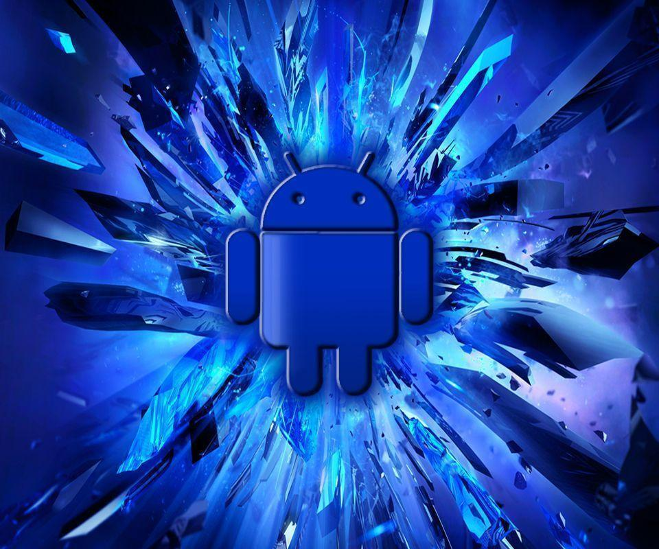 Android Wallpapers Blue HD