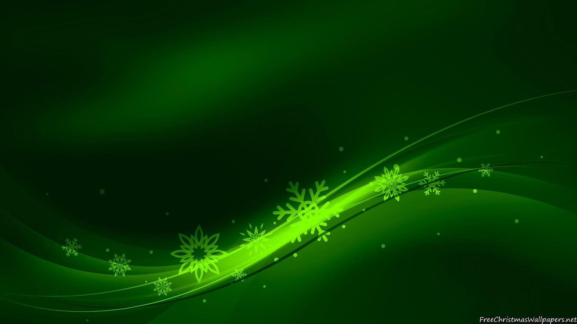 green christmas wallpaper - photo #22