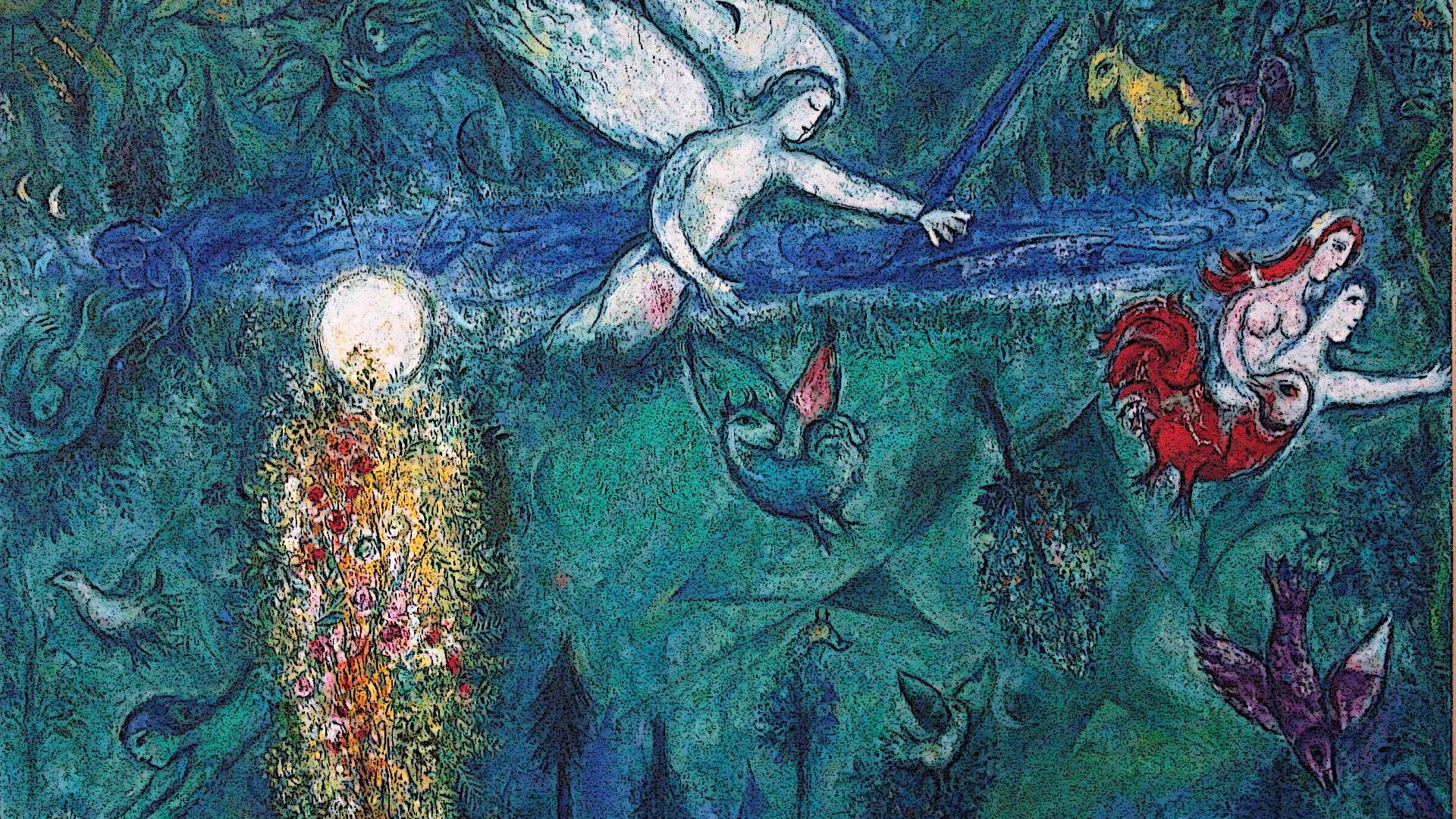 Chagall Wallpapers Wallpaper Cave