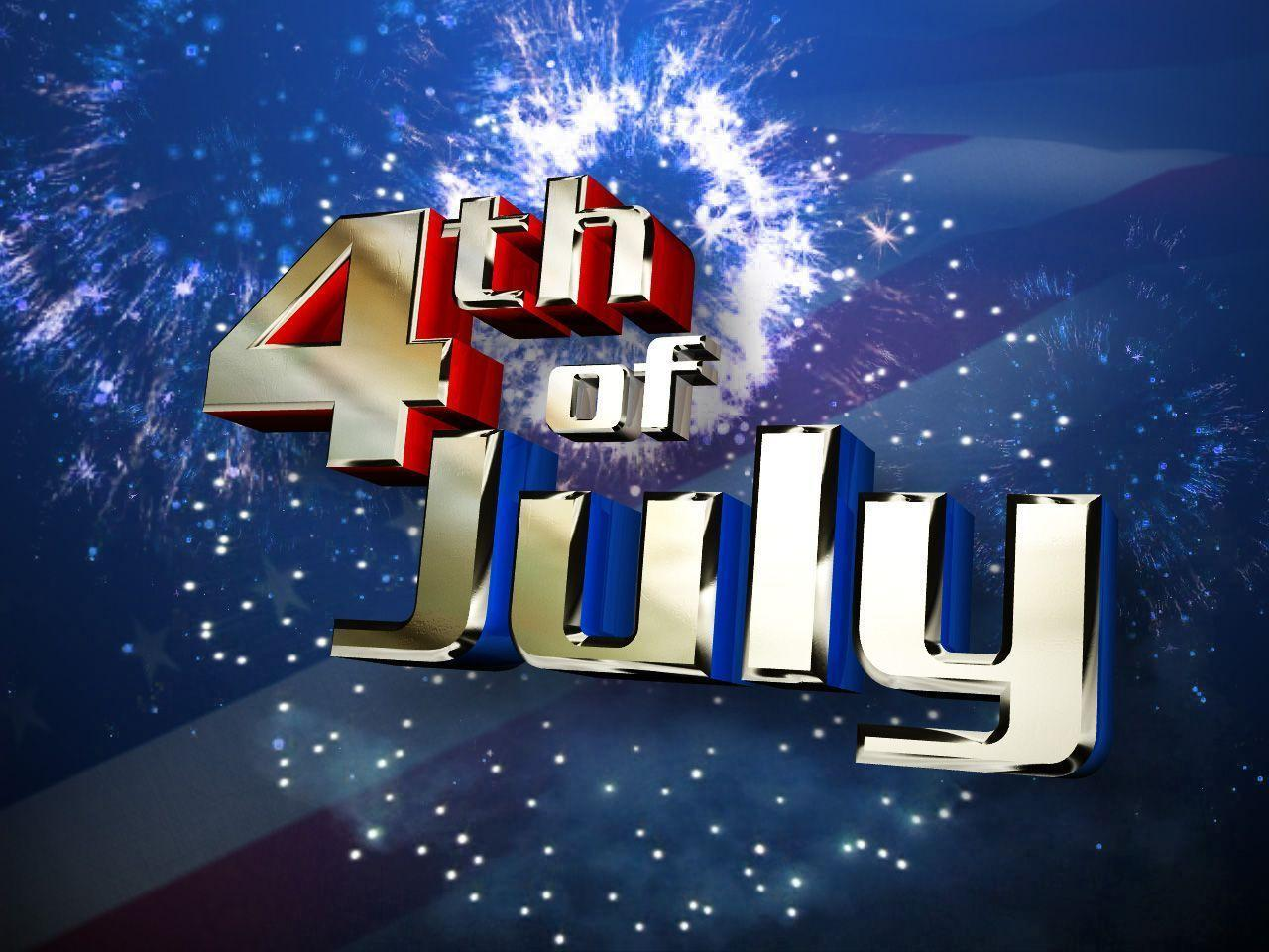3D 4th of July HD Wallpaper | High Definition Wallpaper Desktop