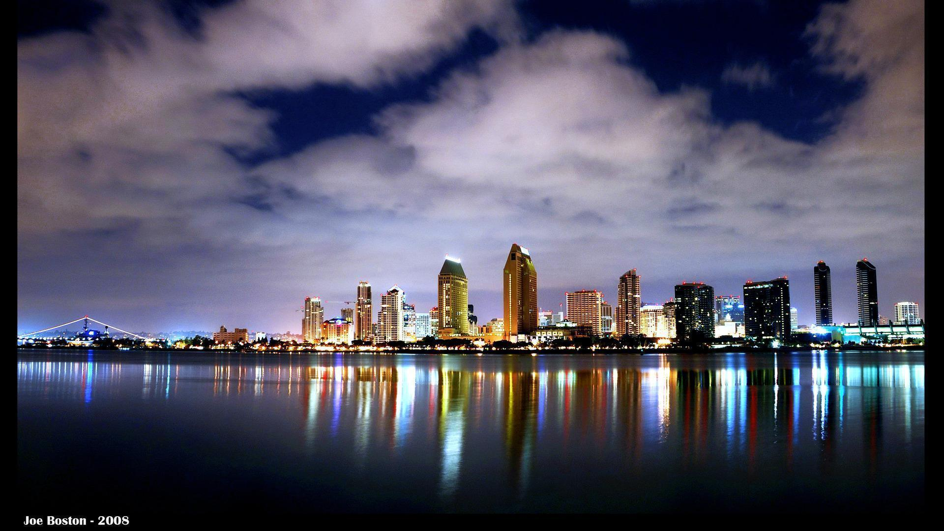 San - Diego City Center Top View Wallpaper 2560x1600 px Free ...