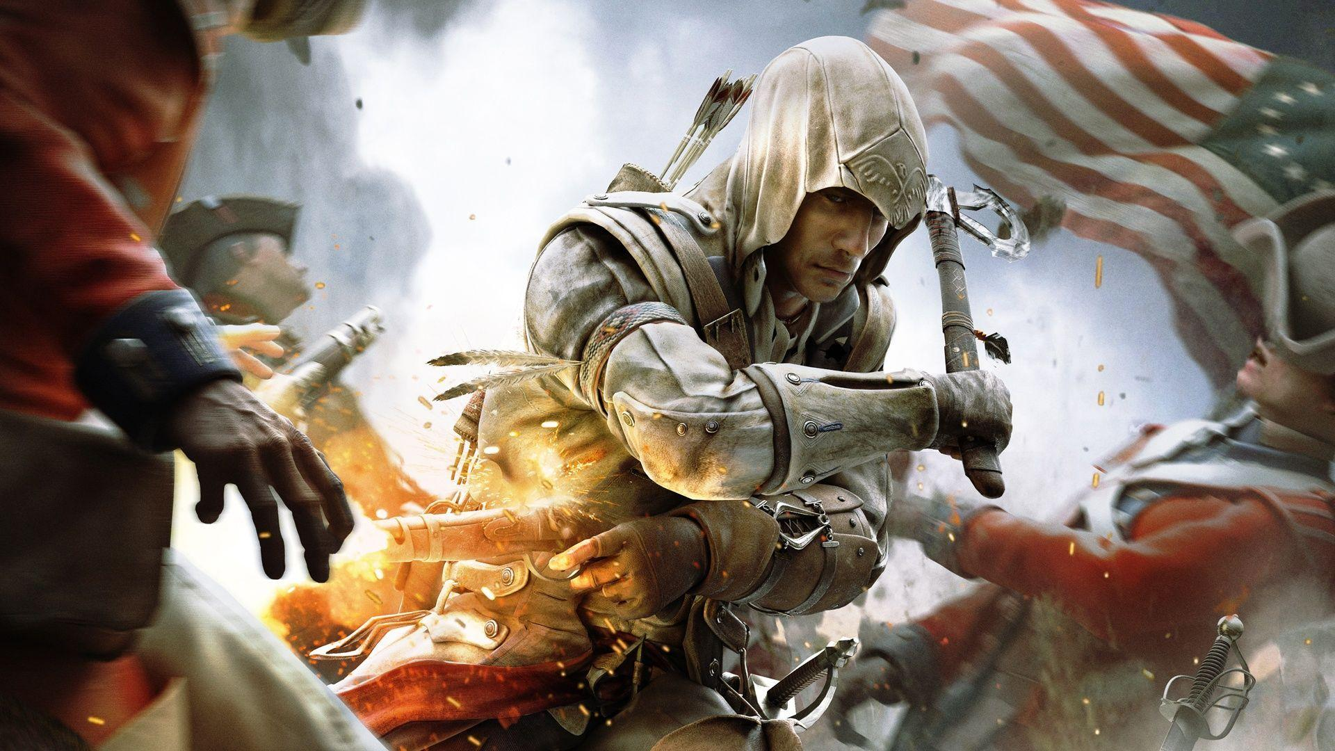 Assassin&Creed III Game Wallpapers