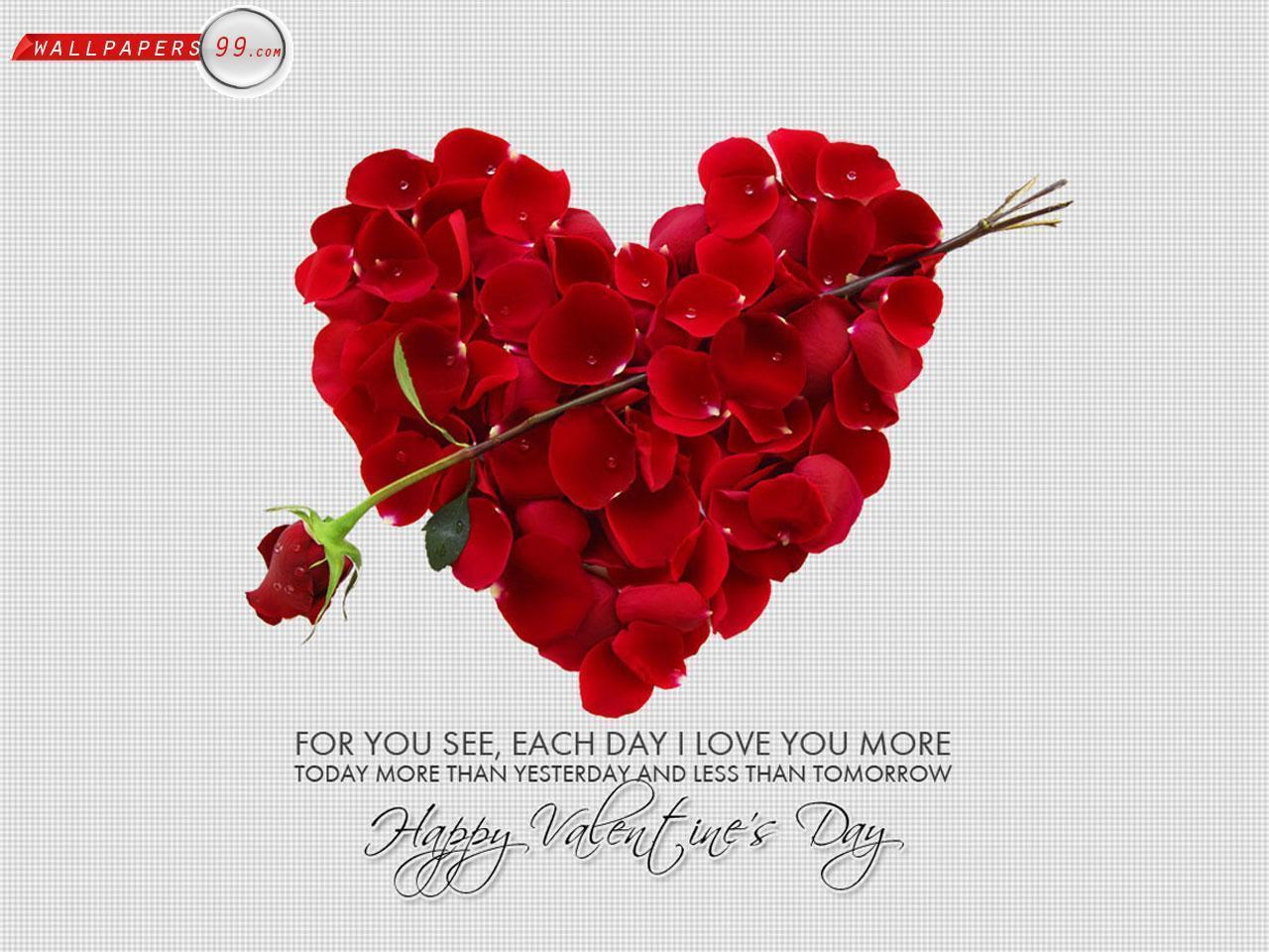 Happy Valentine day love wallpapers for Girlfriend and Boyfriend