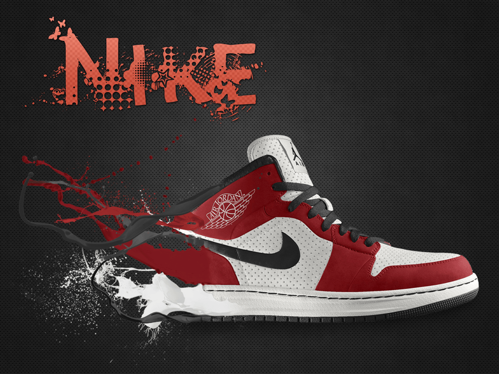 Air Jordan 1 Wallpaper - Mode Shoe