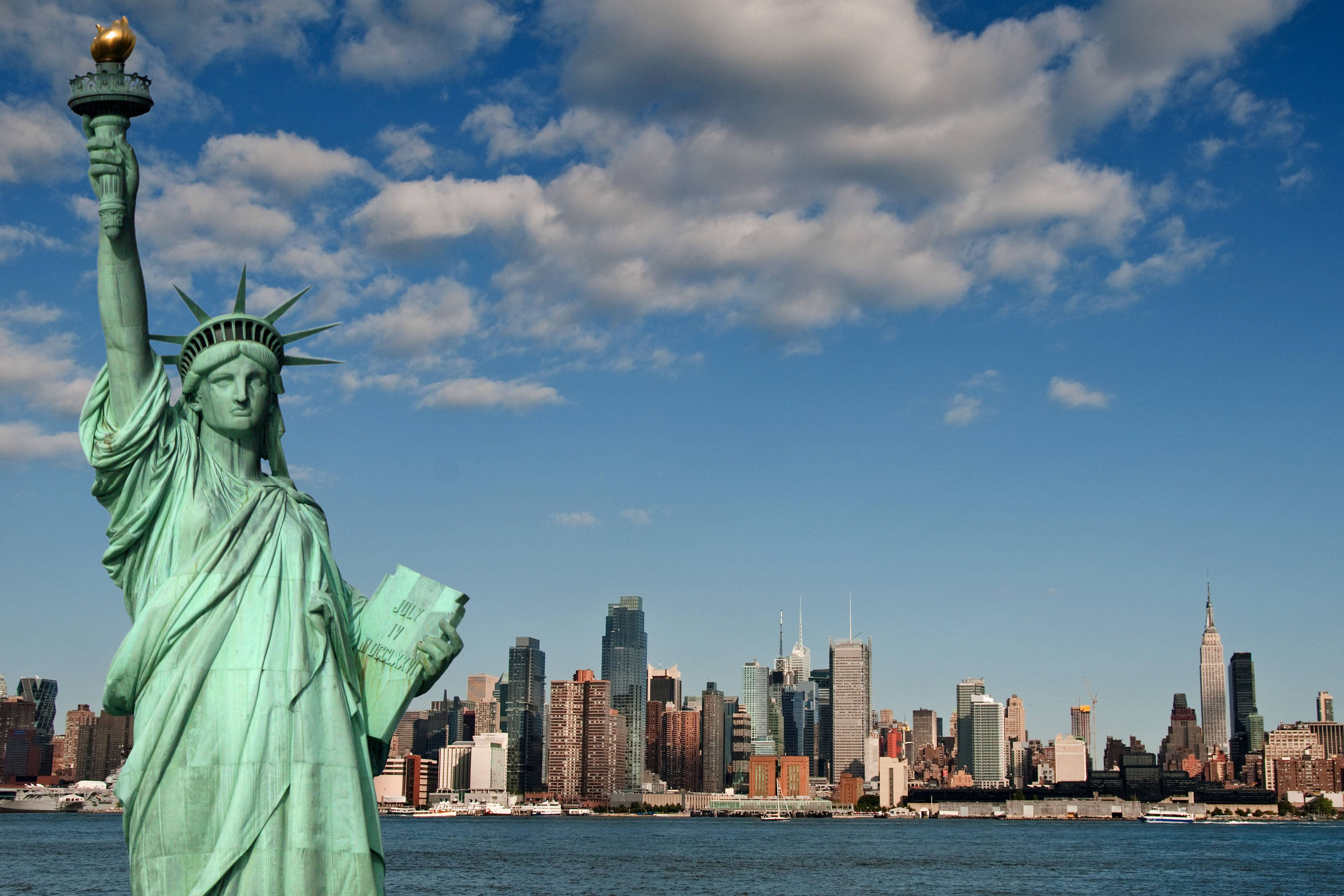NEW YORK&STATUE OF LIBERTY