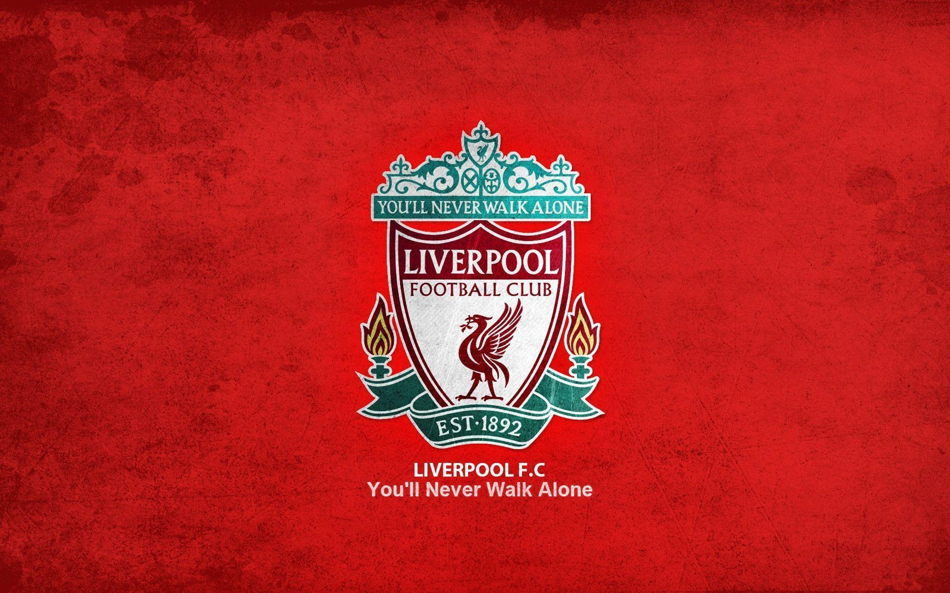 Liverpool FC Official Logo HD Wallpaper