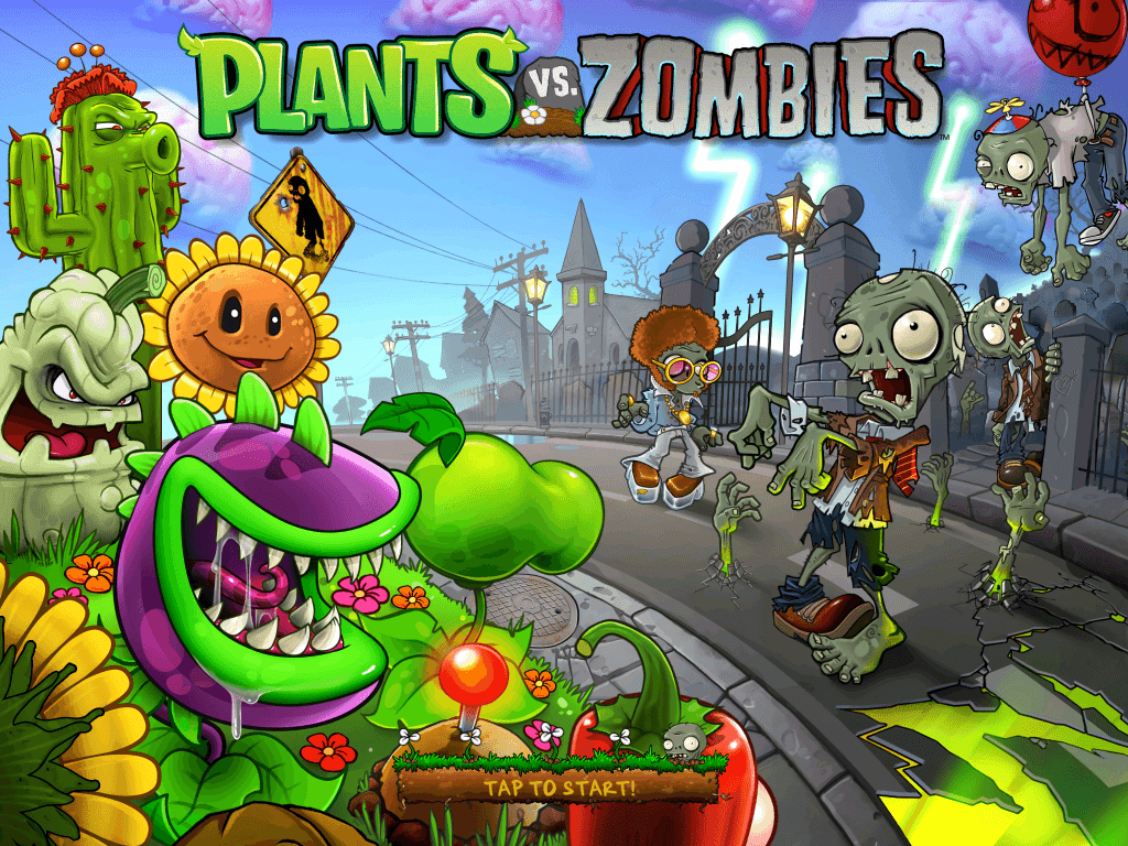 zombies and plants