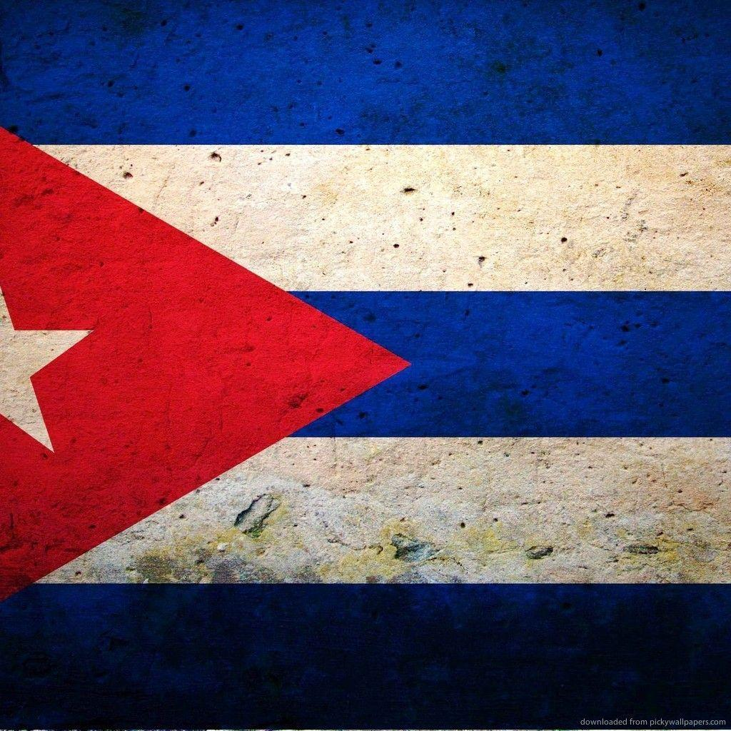 Download Cuba Flag Wallpaper For IPad