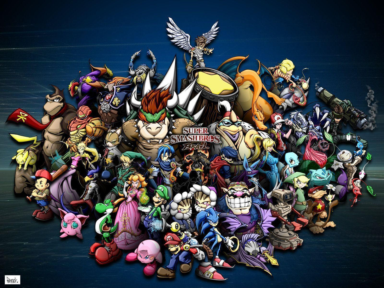 Wii U Screen Savers : Super smash bros wallpapers wallpaper cave