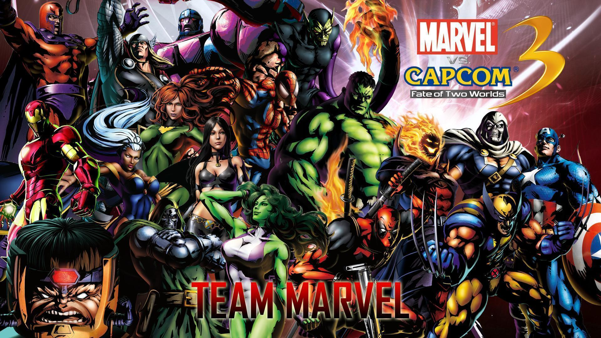 Ultimate Marvel vs. Capcom 3 Wallpapers HD Wallpapers Download Logo