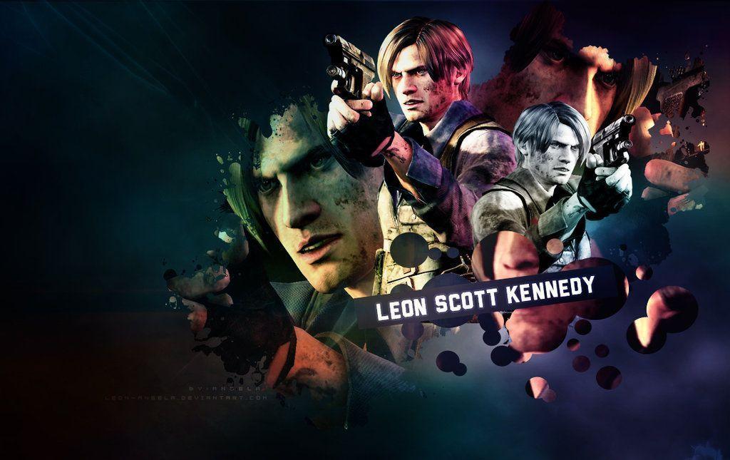 Leon s kennedy wallpaper