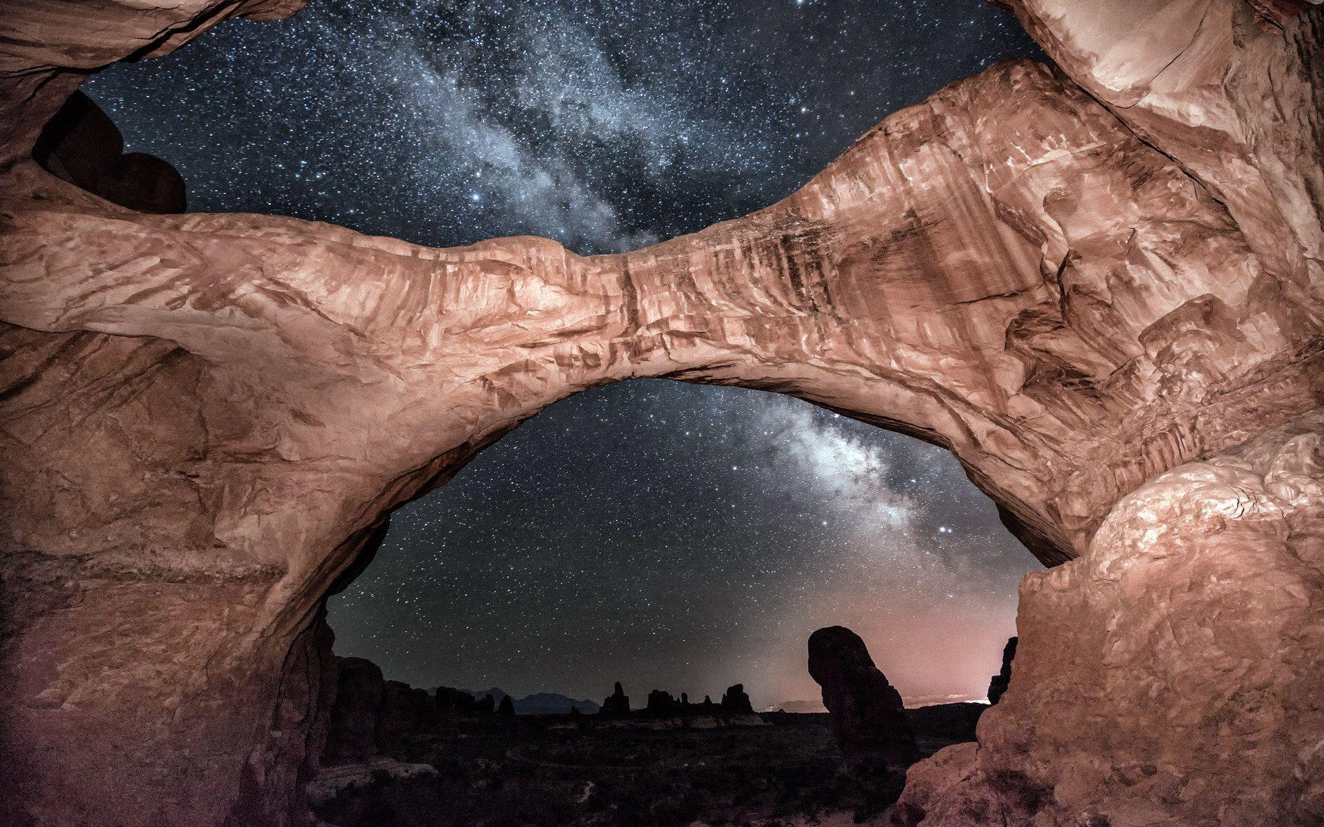 USA Arches National Park backgrounds