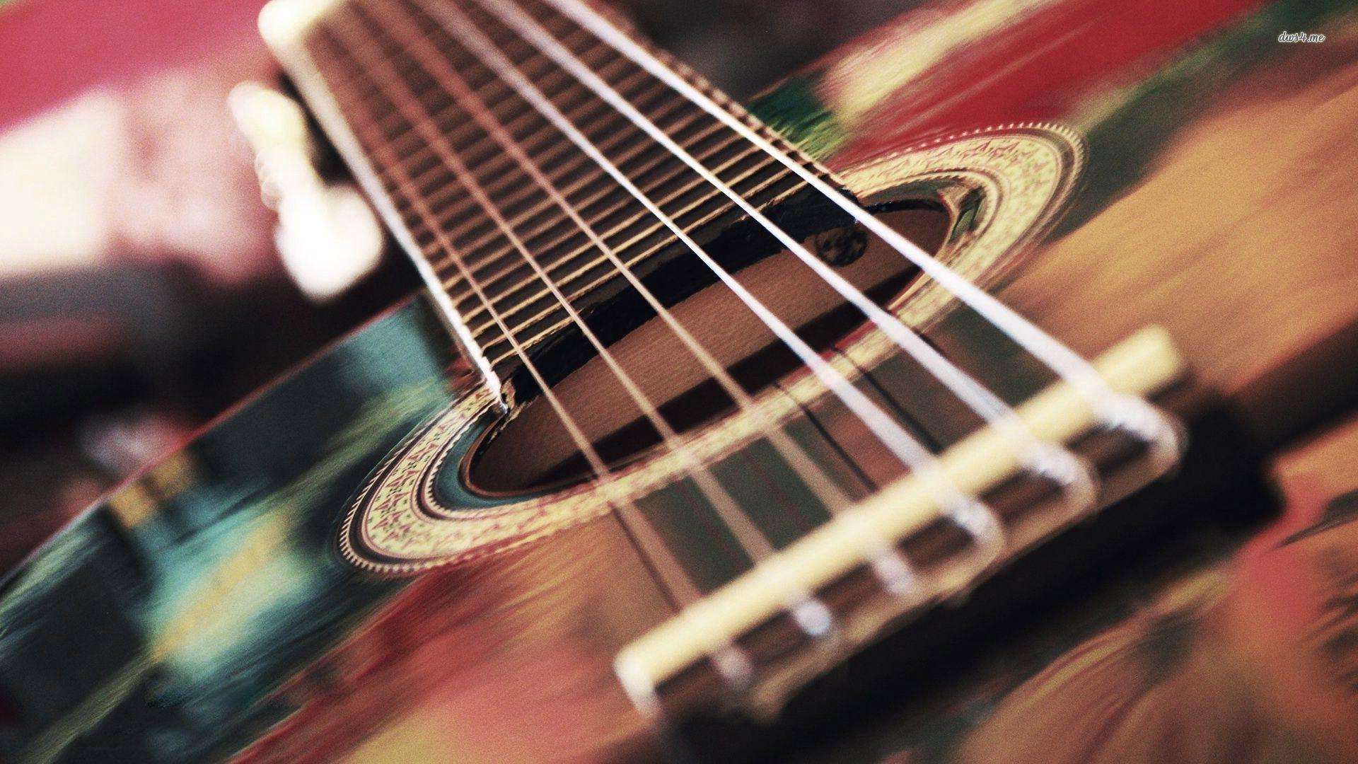 Acoustic guitar strings wallpapers